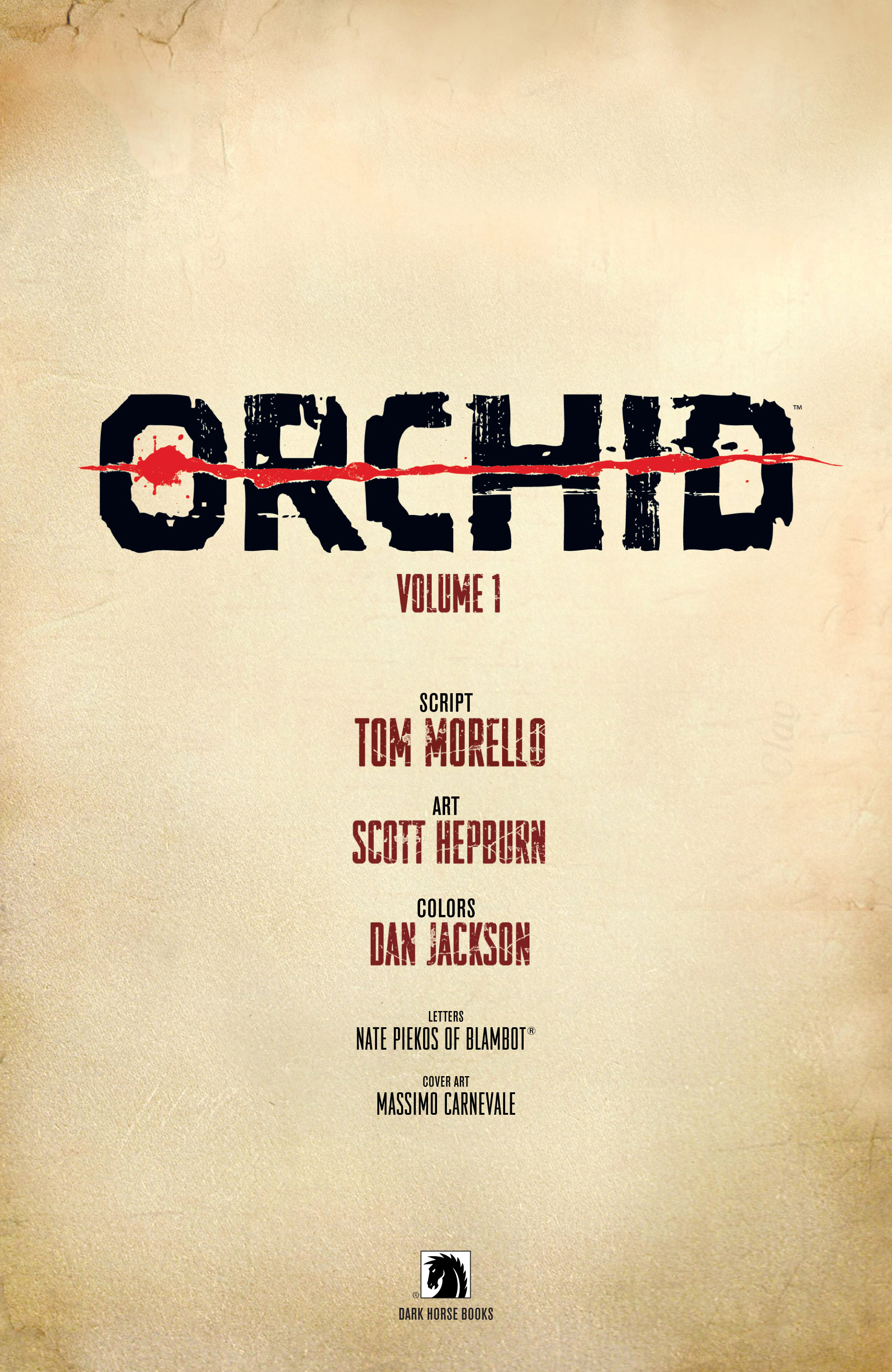 Read online Orchid comic -  Issue # TPB 1 - 4
