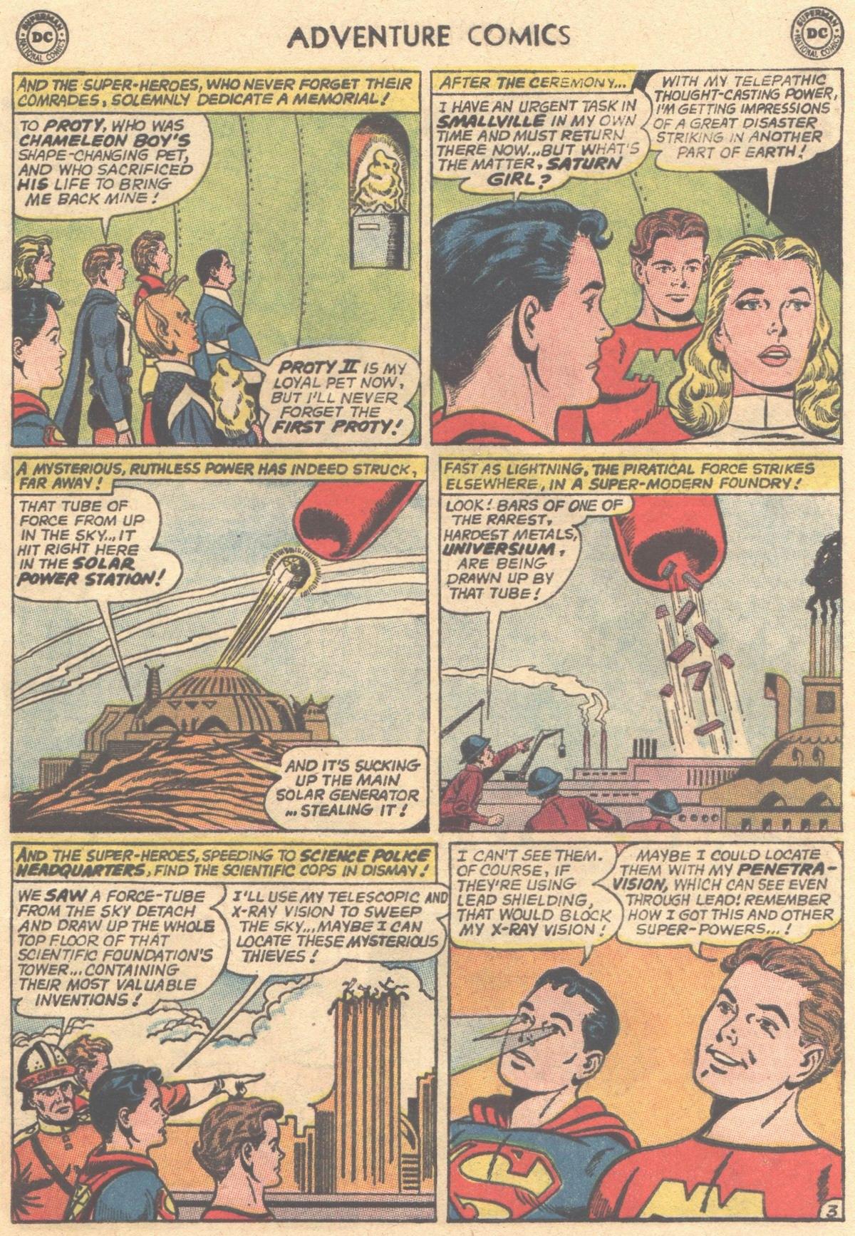 Read online Adventure Comics (1938) comic -  Issue #316 - 5