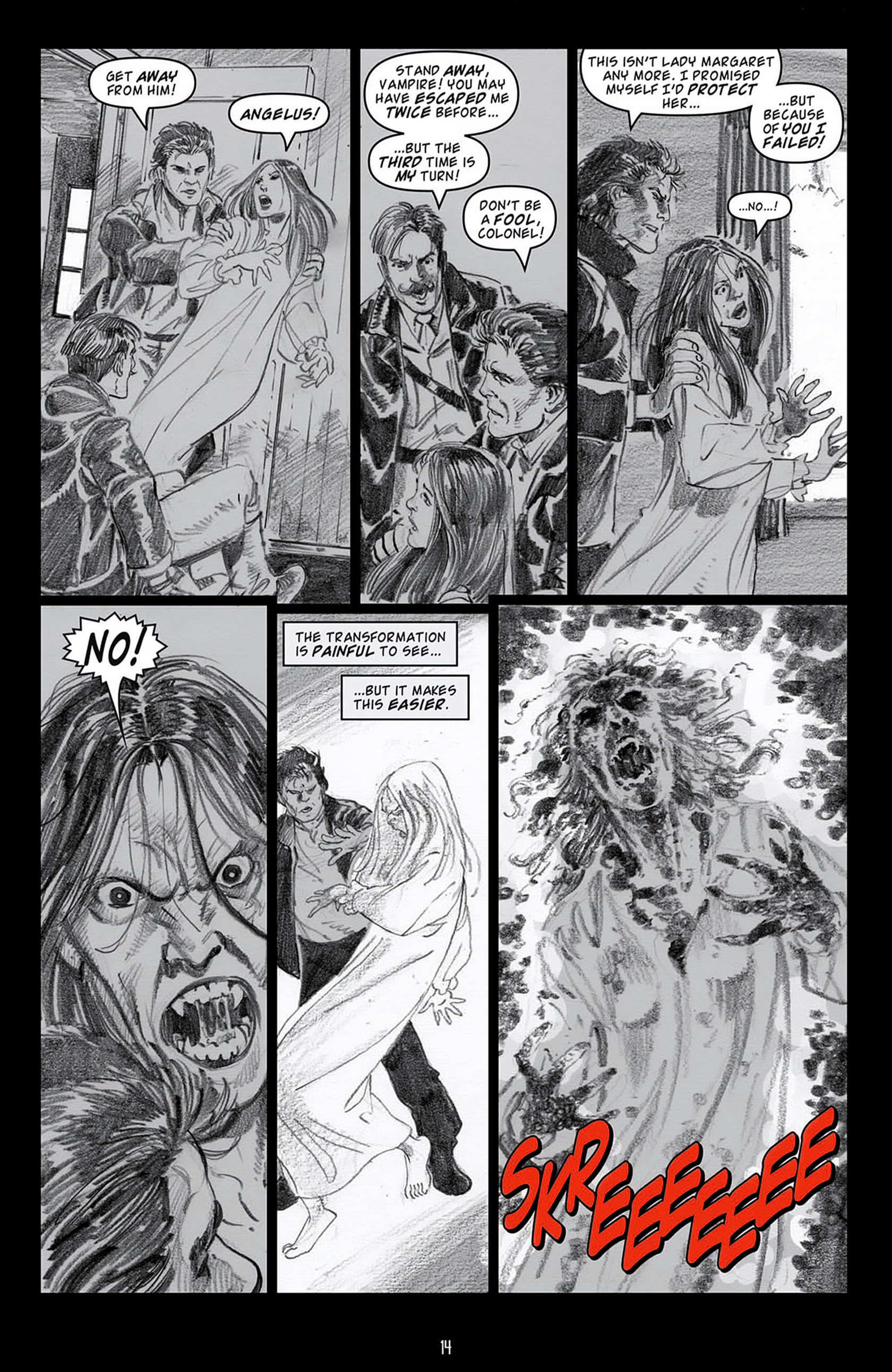 Read online Angel: Blood & Trenches comic -  Issue #4 - 17