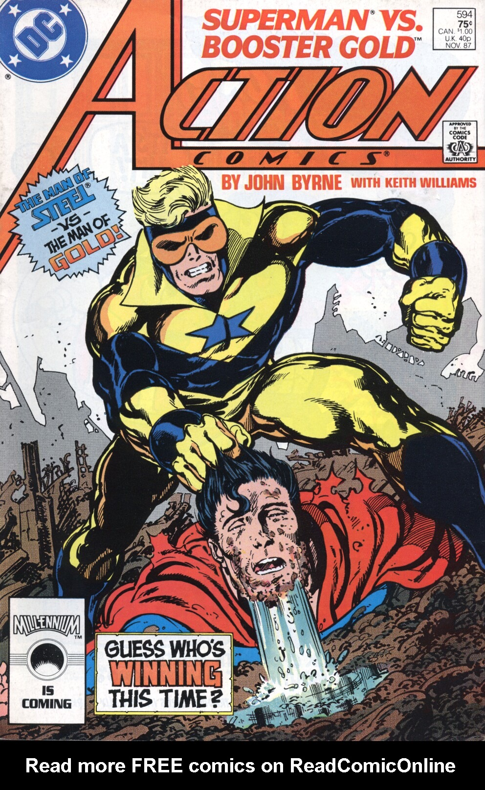 Read online Action Comics (1938) comic -  Issue #594 - 1