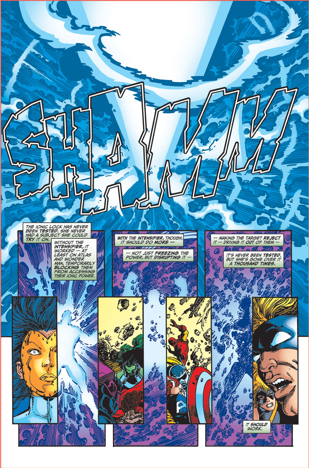 Read online Avengers (1998) comic -  Issue #34 - 21