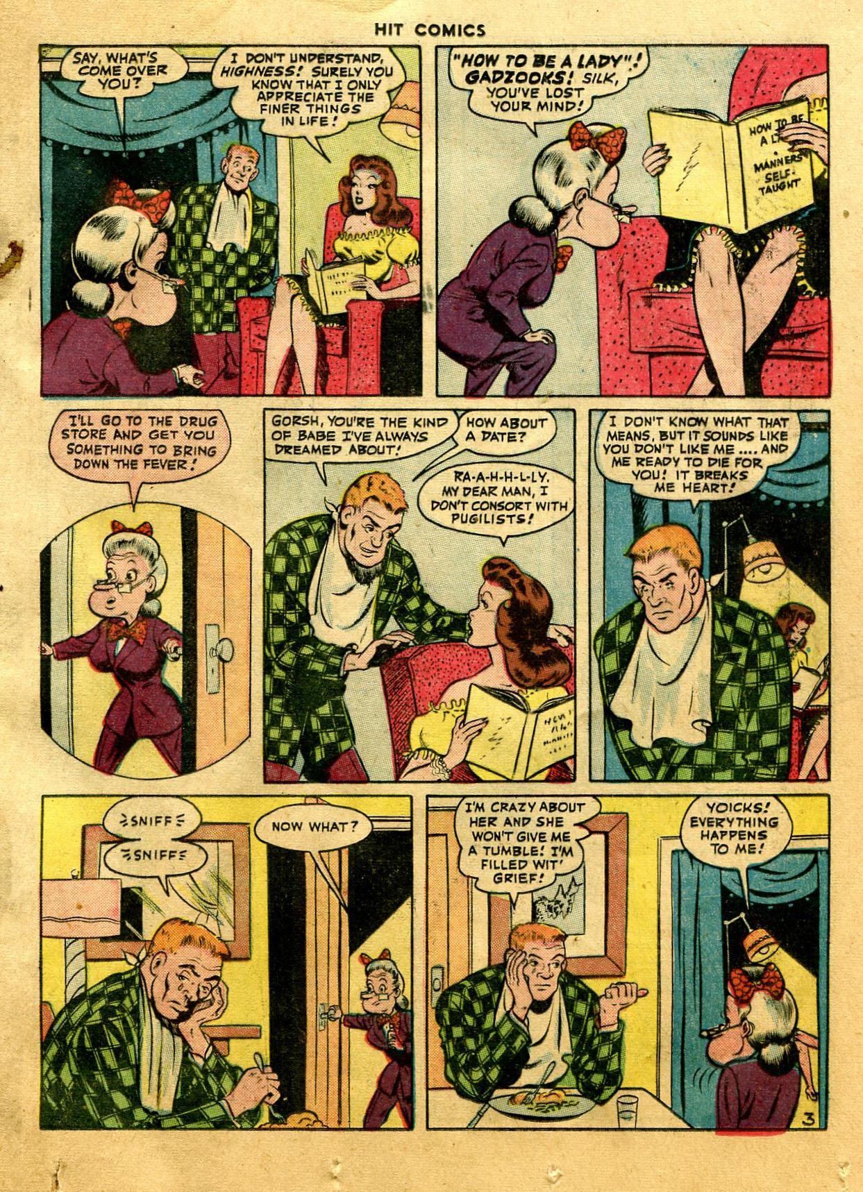 Read online Hit Comics comic -  Issue #44 - 21