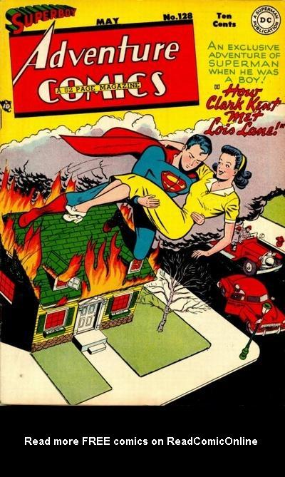 Read online Adventure Comics (1938) comic -  Issue #128 - 1