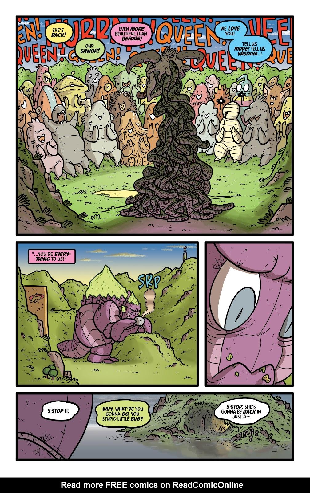 Read online Kaijumax: Season Four comic -  Issue #4 - 17