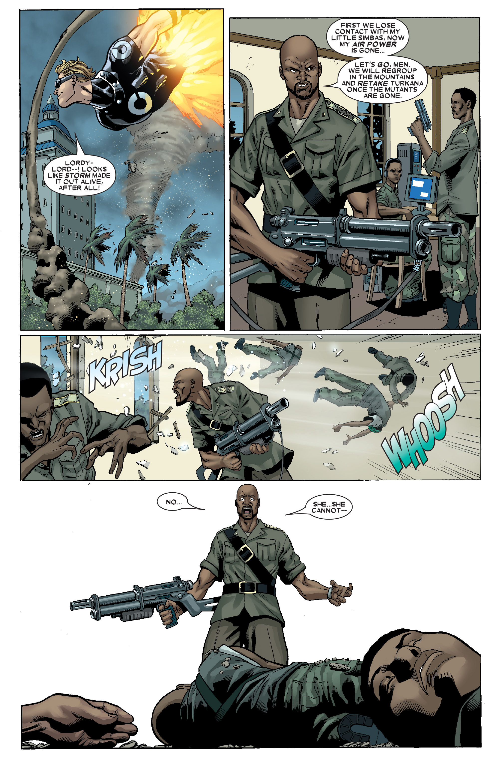 Read online Uncanny X-Men (1963) comic -  Issue # _Annual 1 (2006) - 37