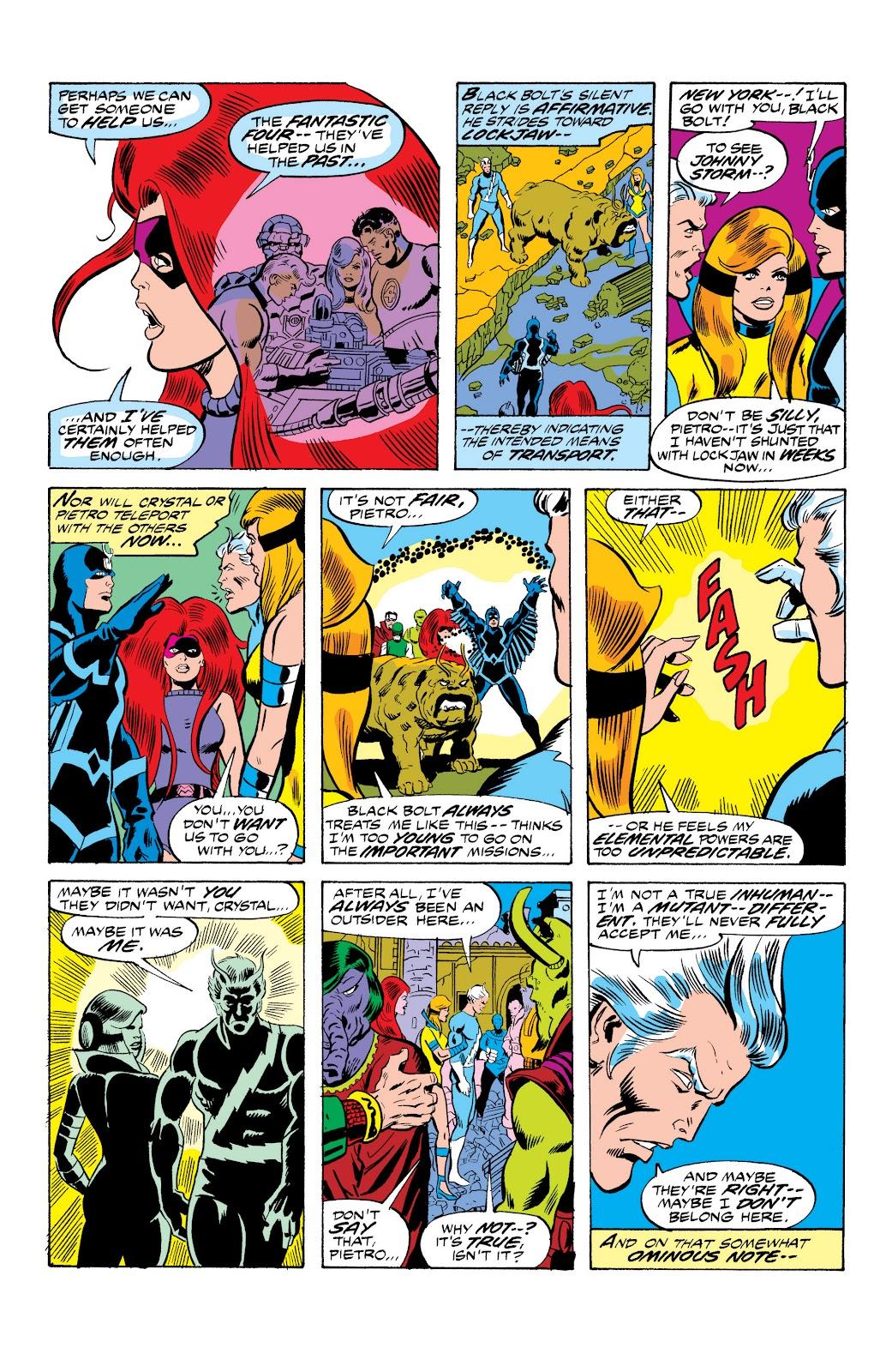 Read online Marvel Masterworks: The Inhumans comic -  Issue # TPB 2 (Part 1) - 53