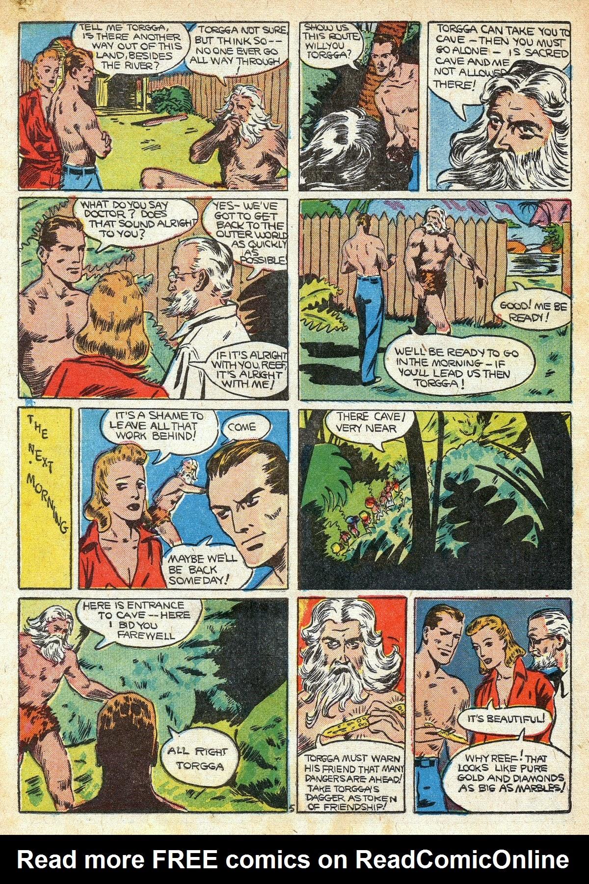 Read online Amazing Man Comics comic -  Issue #16 - 56