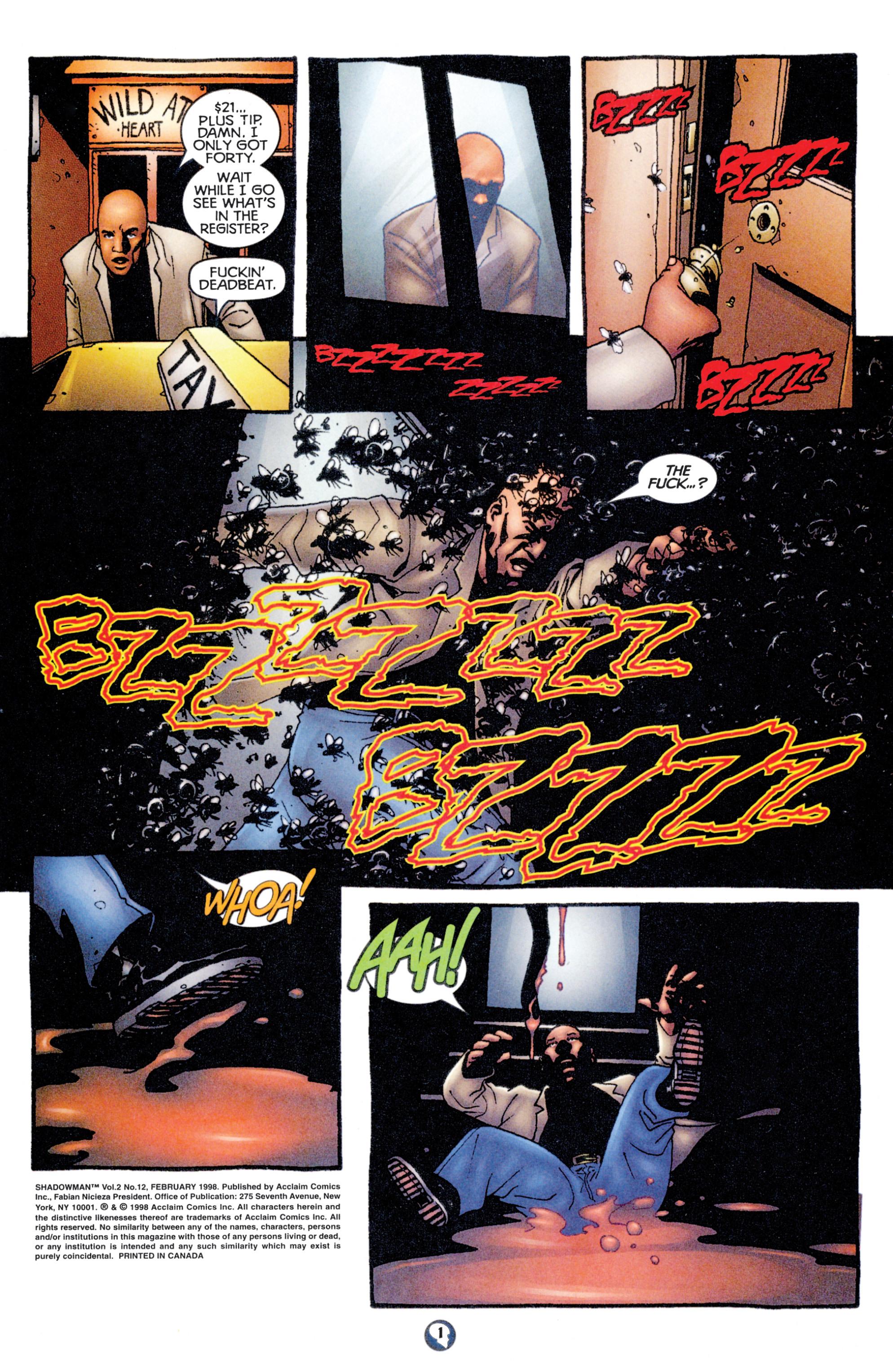 Read online Shadowman (1997) comic -  Issue #12 - 2