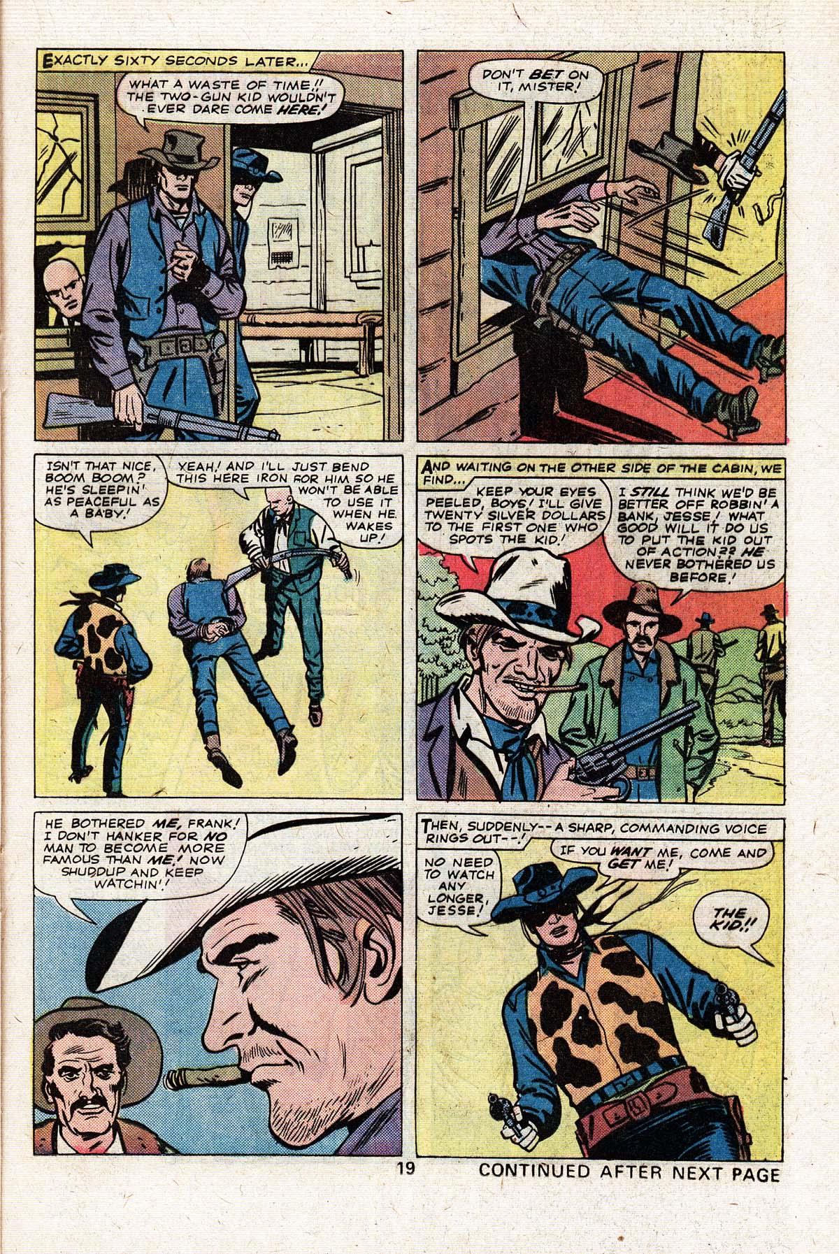 Read online Two-Gun Kid comic -  Issue #125 - 21