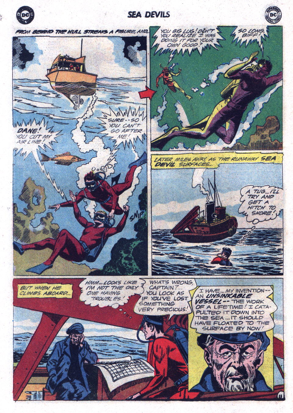 Read online Sea Devils comic -  Issue #17 - 16