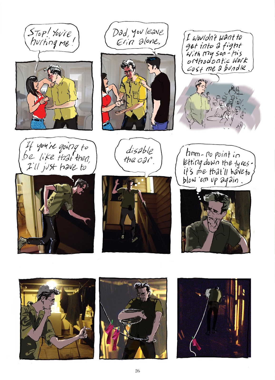 Read online The Lovely Horrible Stuff comic -  Issue # TPB - 28