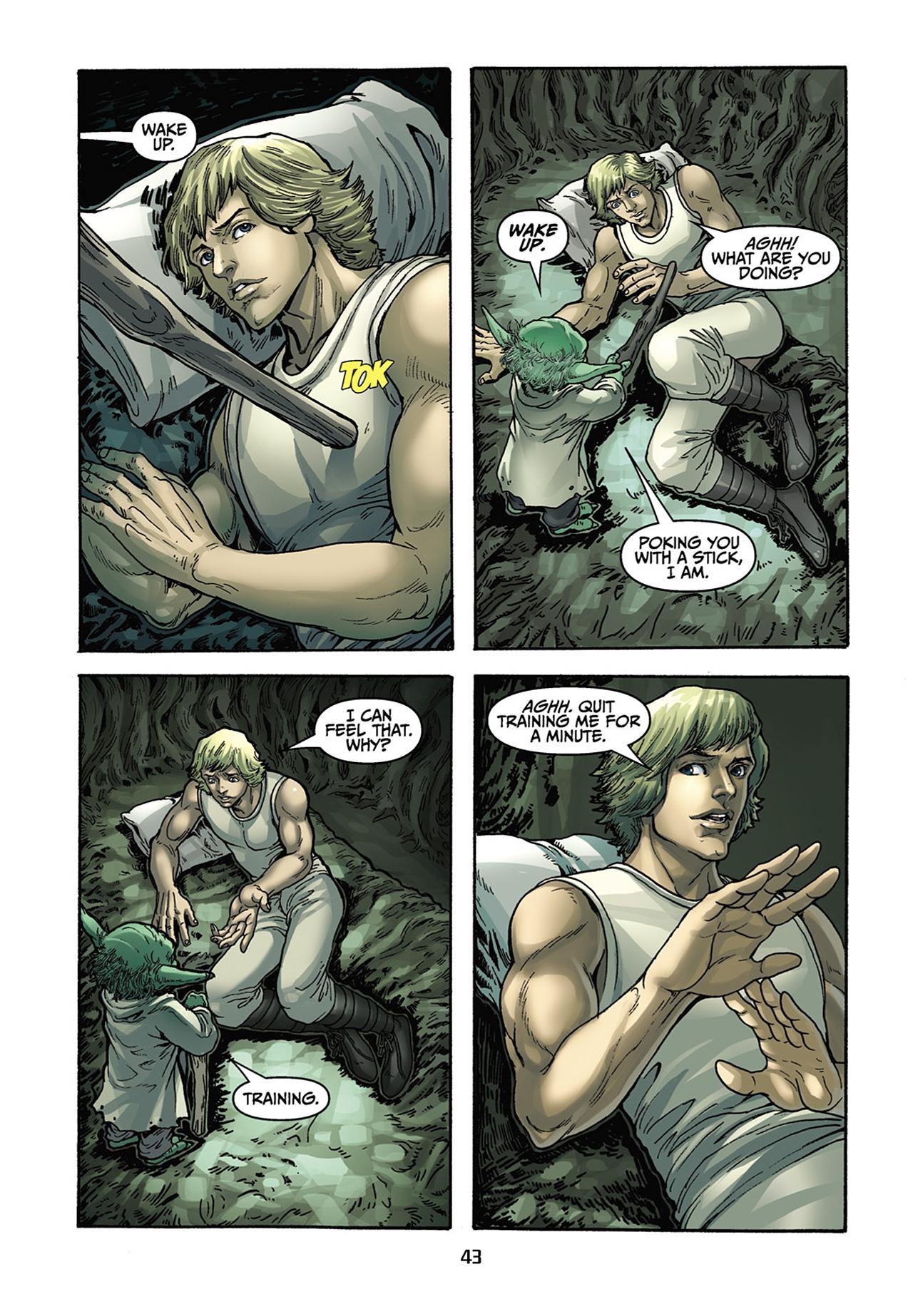 Read online Star Wars Omnibus comic -  Issue # Vol. 33 - 205