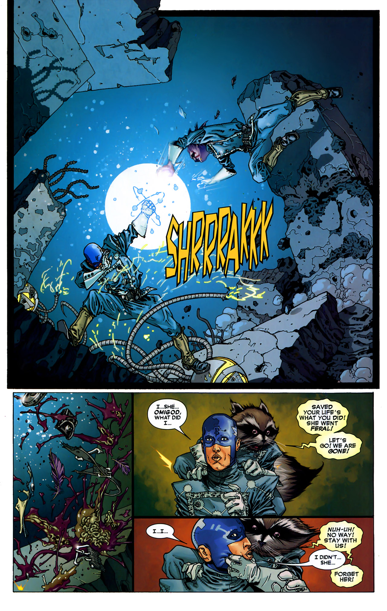 Read online Annihilation: Conquest - Starlord comic -  Issue #2 - 21