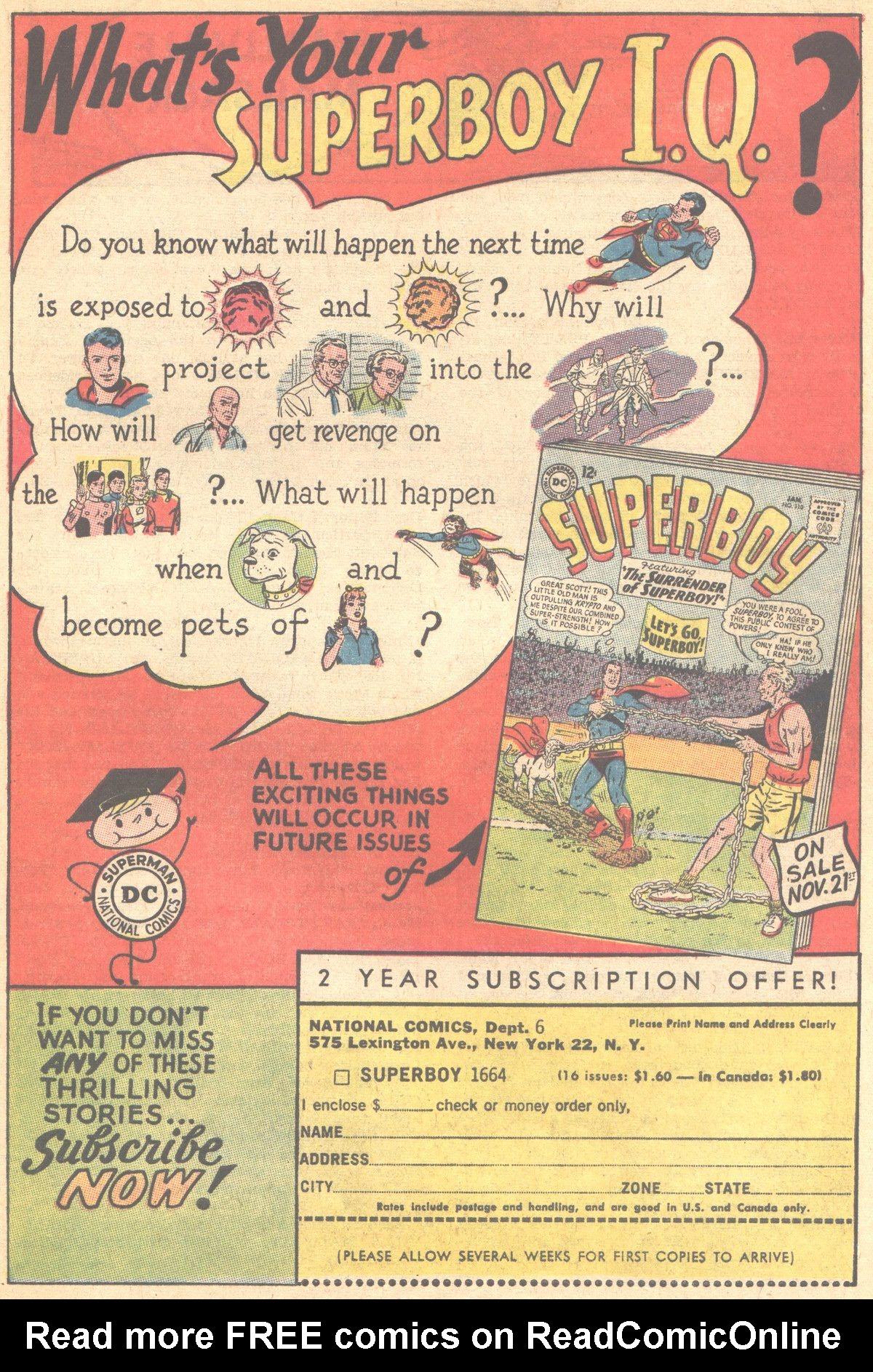 Read online Adventure Comics (1938) comic -  Issue #315 - 21