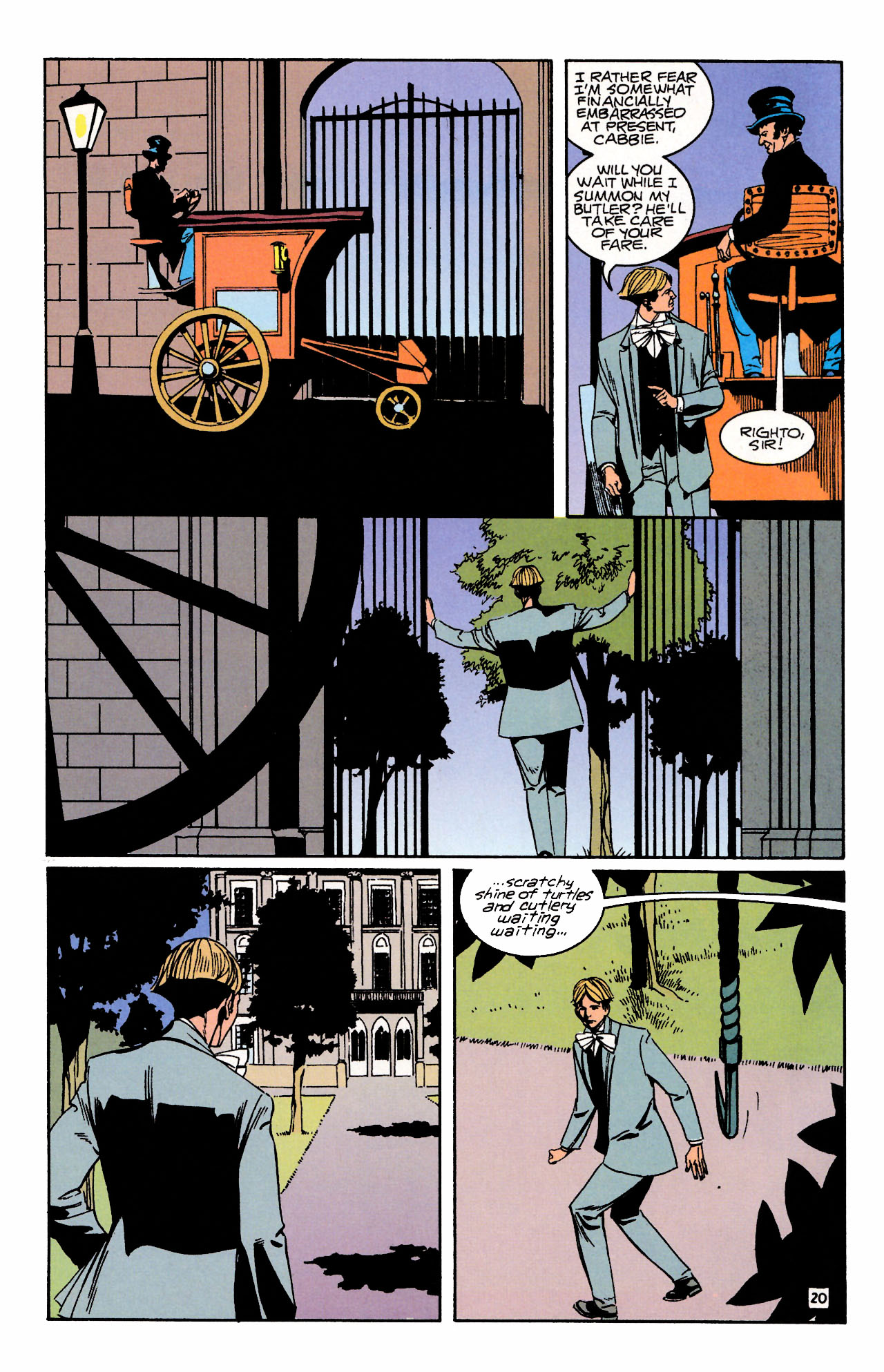 Read online Sebastian O comic -  Issue #3 - 24