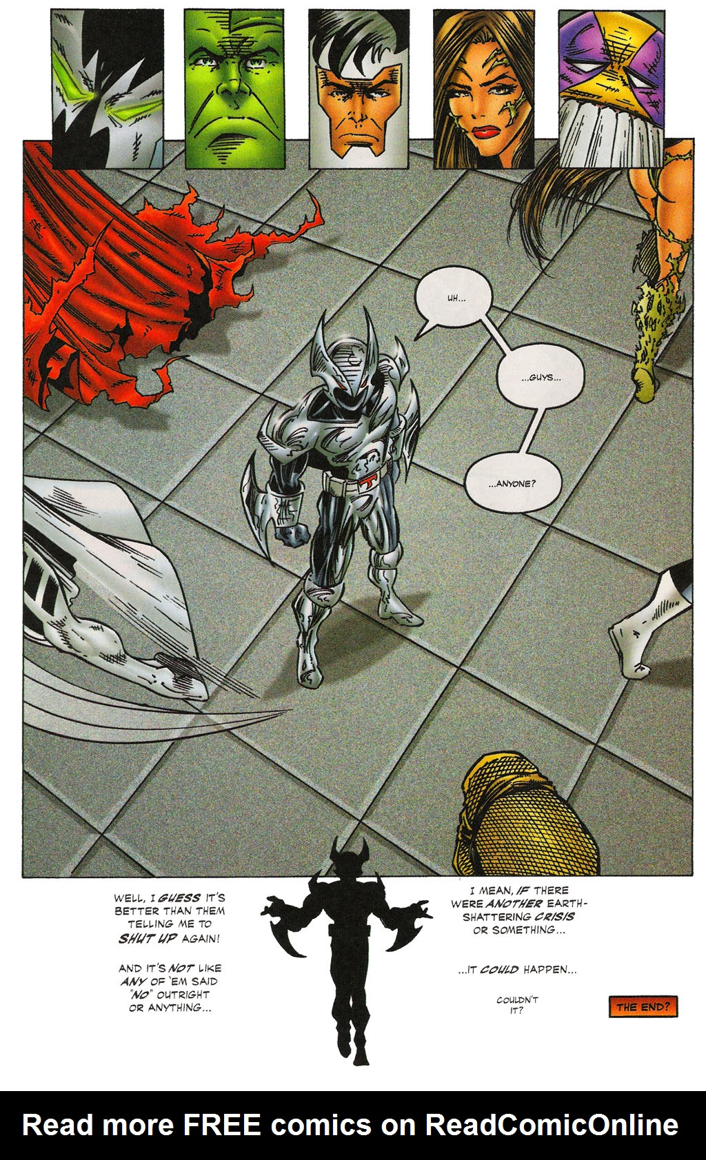 Read online Altered Image comic -  Issue #3 - 28