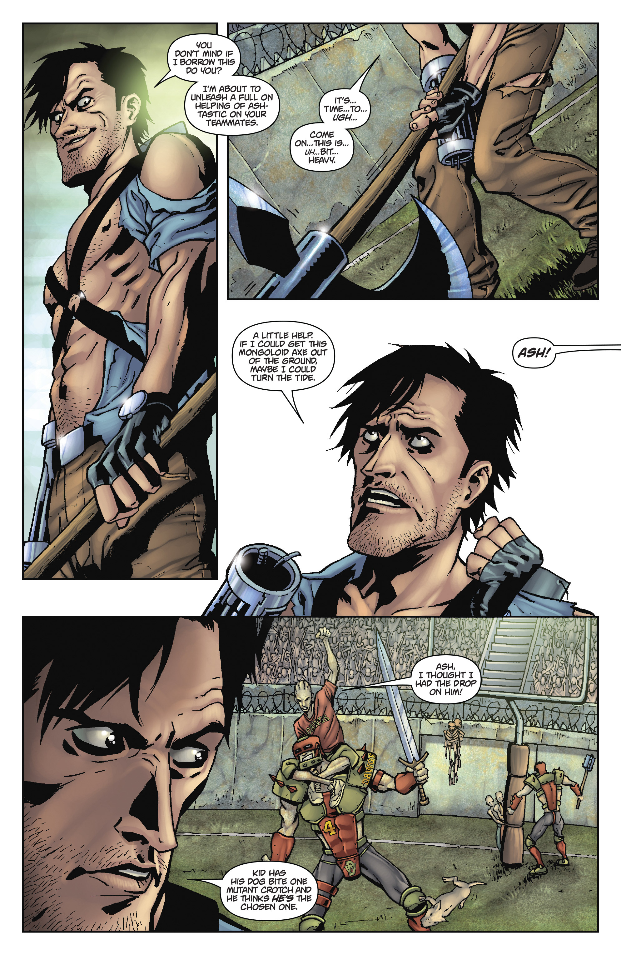 Read online Army of Darkness: The Long Road Home comic -  Issue #Army of Darkness: The Long Road Home TPB - 61