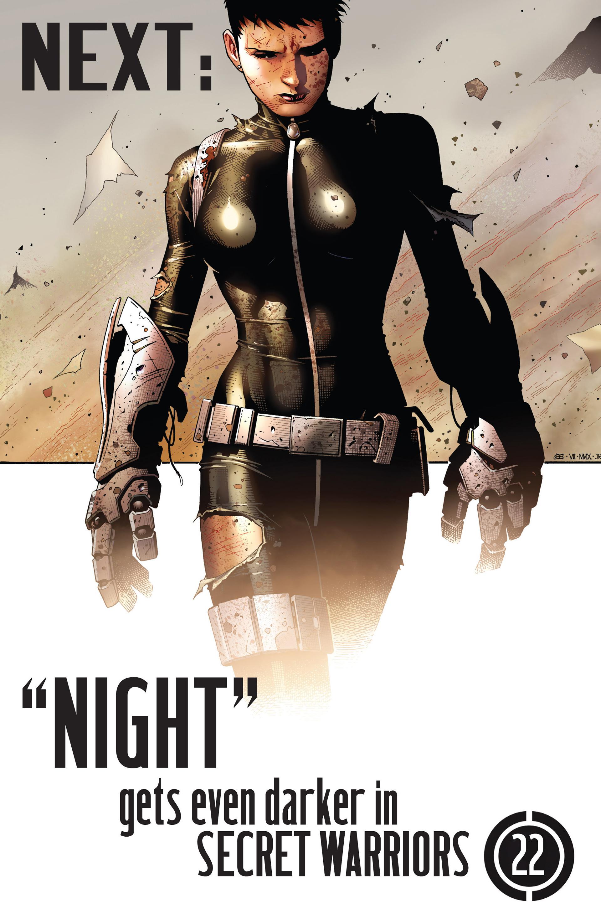 Read online Secret Warriors comic -  Issue #21 - 25