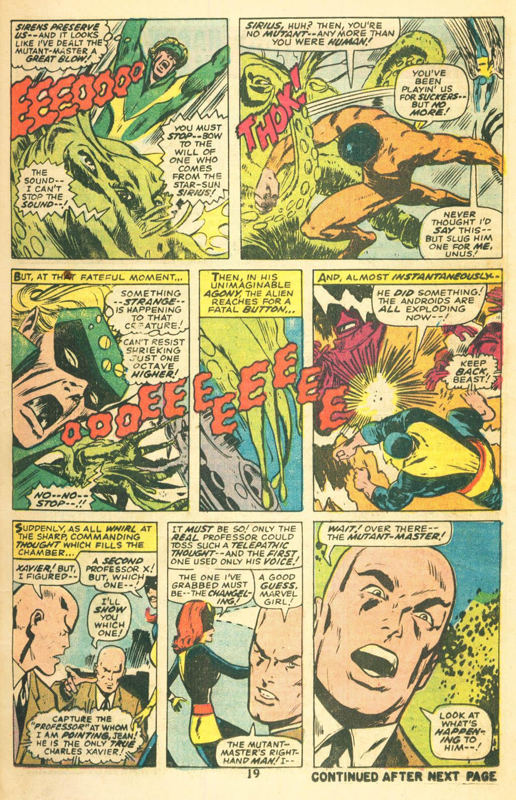 Read online Uncanny X-Men (1963) comic -  Issue #87 - 21