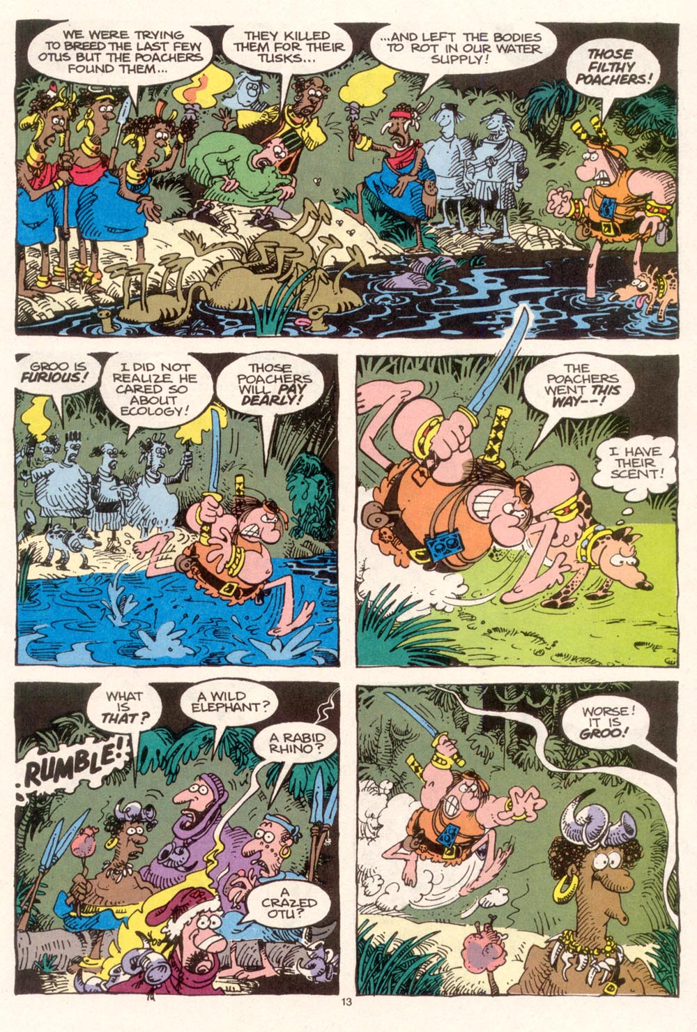 Read online Sergio Aragonés Groo the Wanderer comic -  Issue #95 - 14