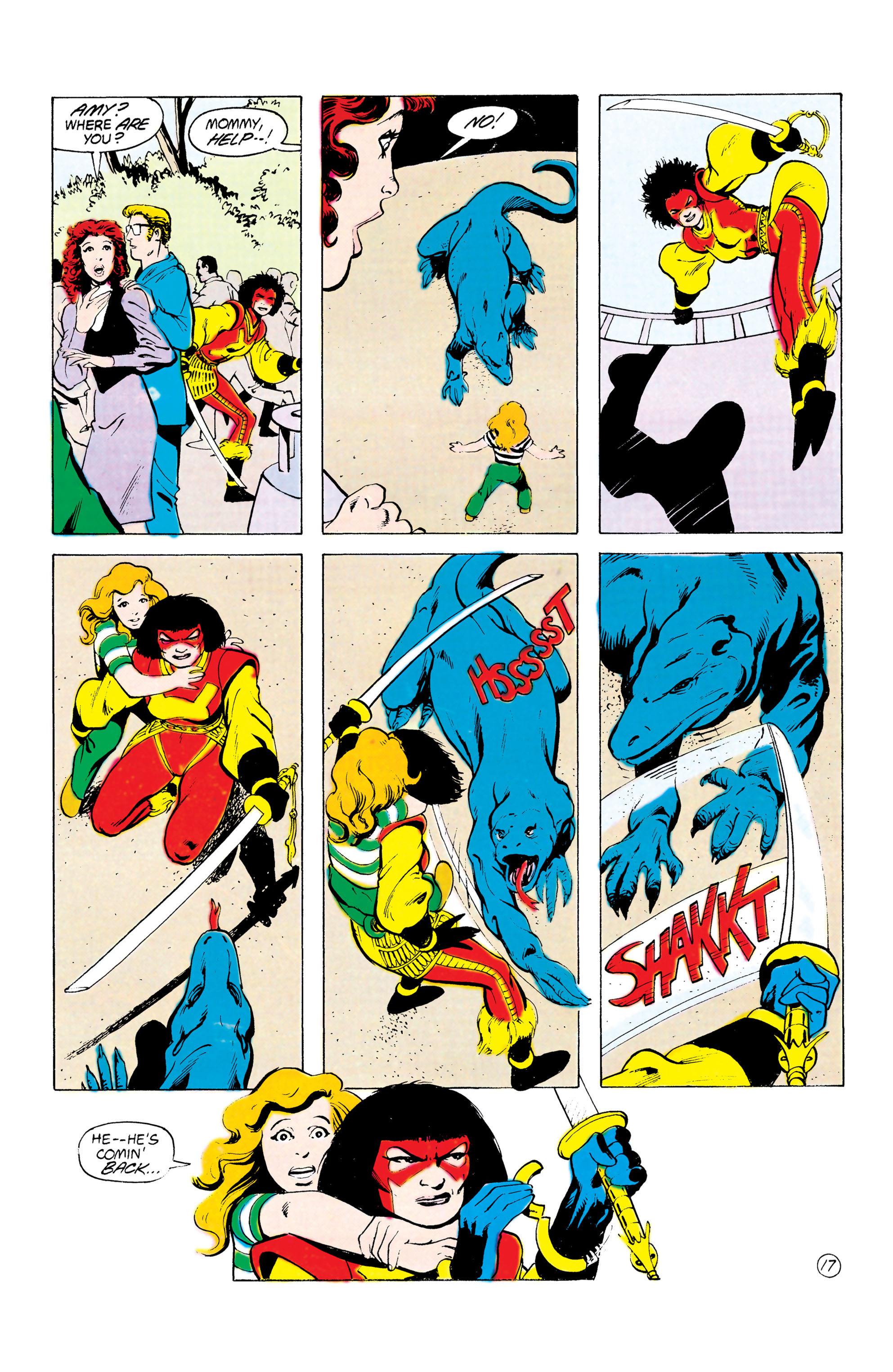 Batman and the Outsiders (1983) 24 Page 17