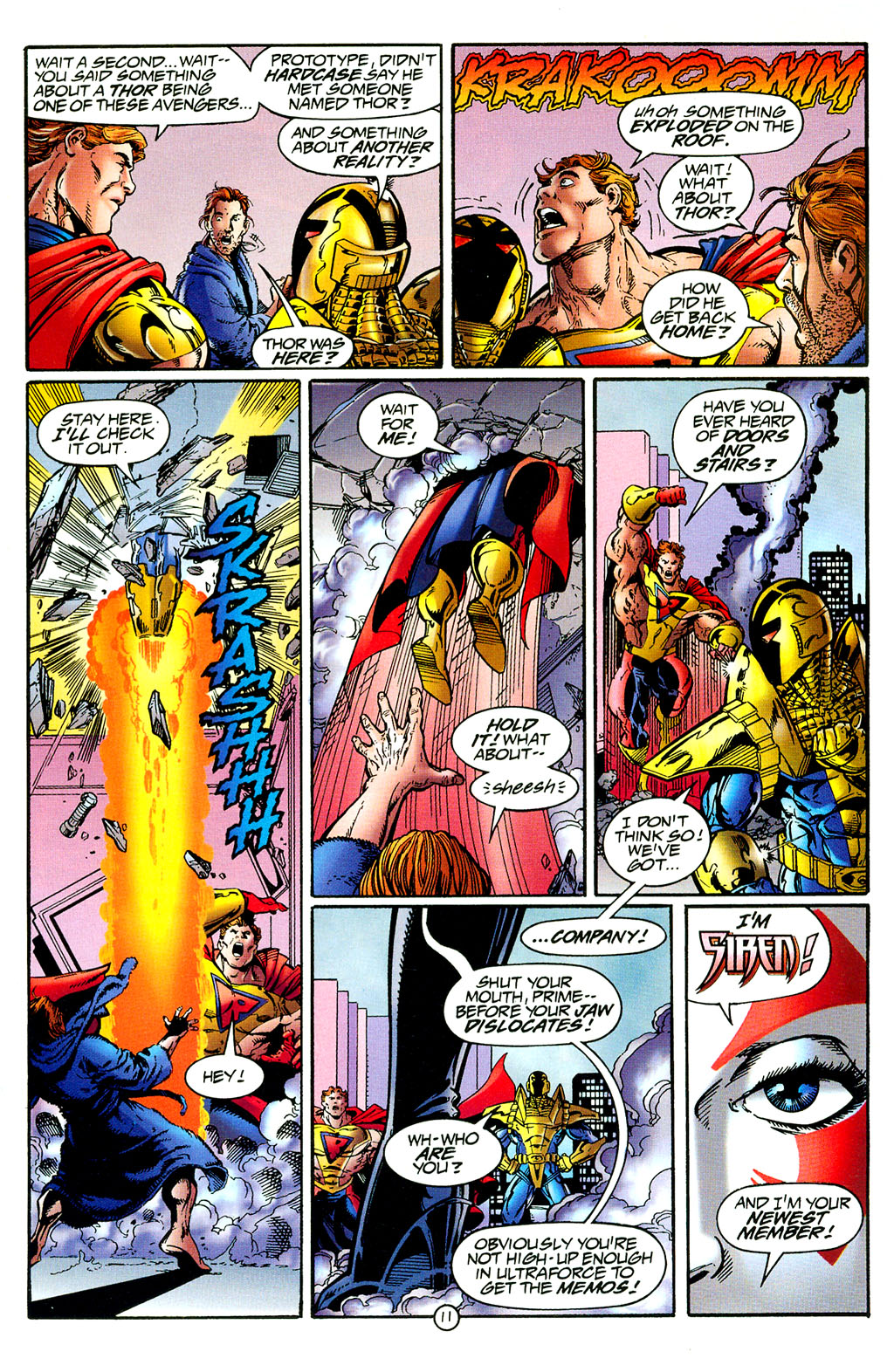 Read online UltraForce (1994) comic -  Issue #8 - 11
