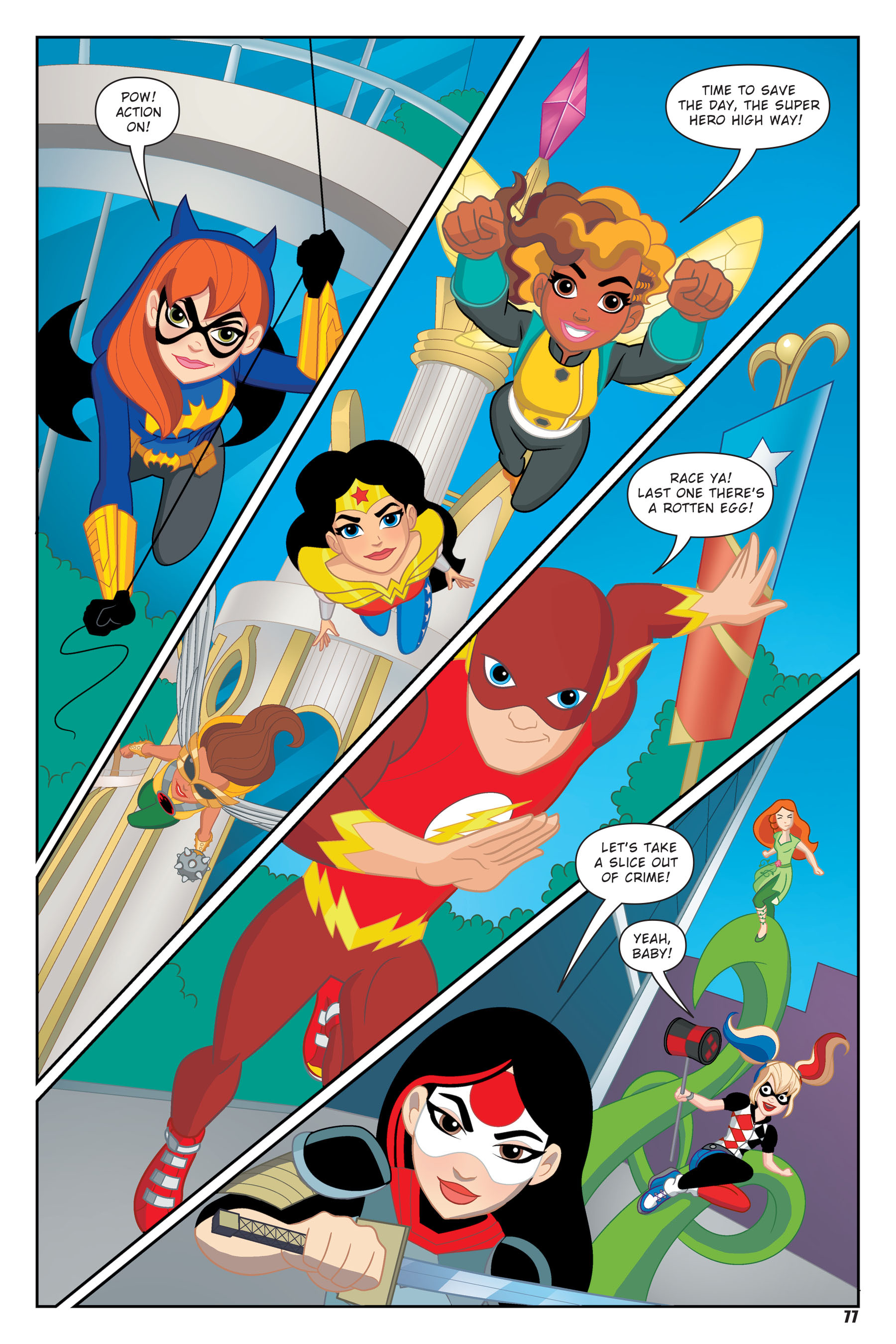 Read online DC Super Hero Girls: Hits and Myths comic -  Issue # Full - 74