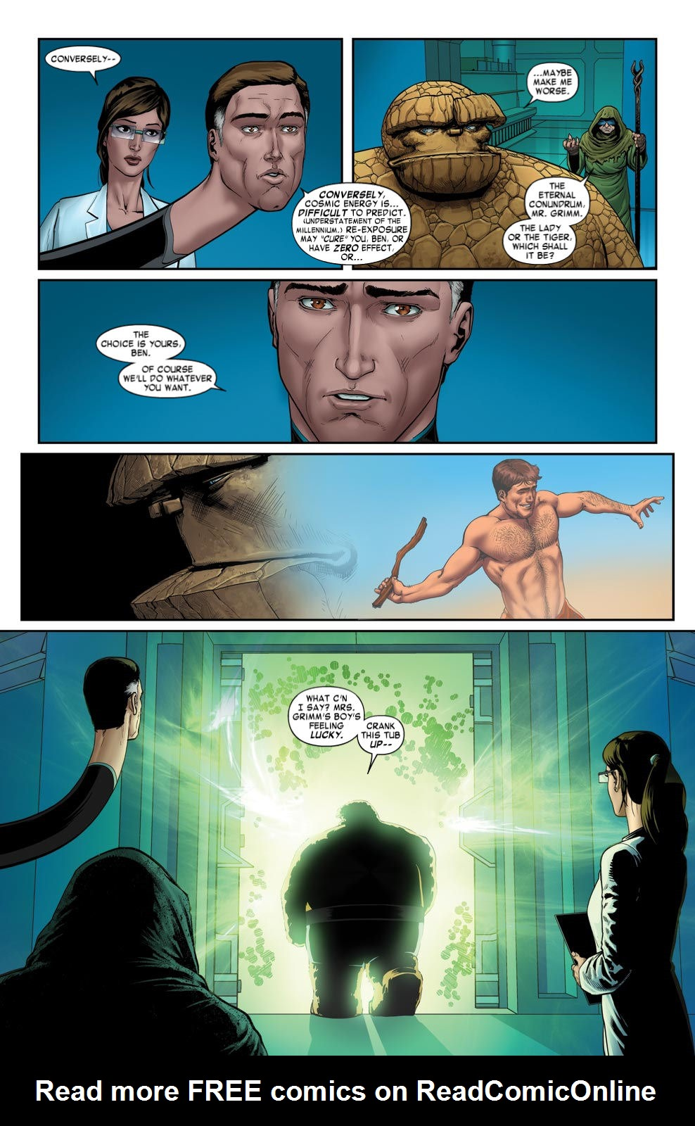 Read online Fantastic Four: Season One comic -  Issue # TPB - 79