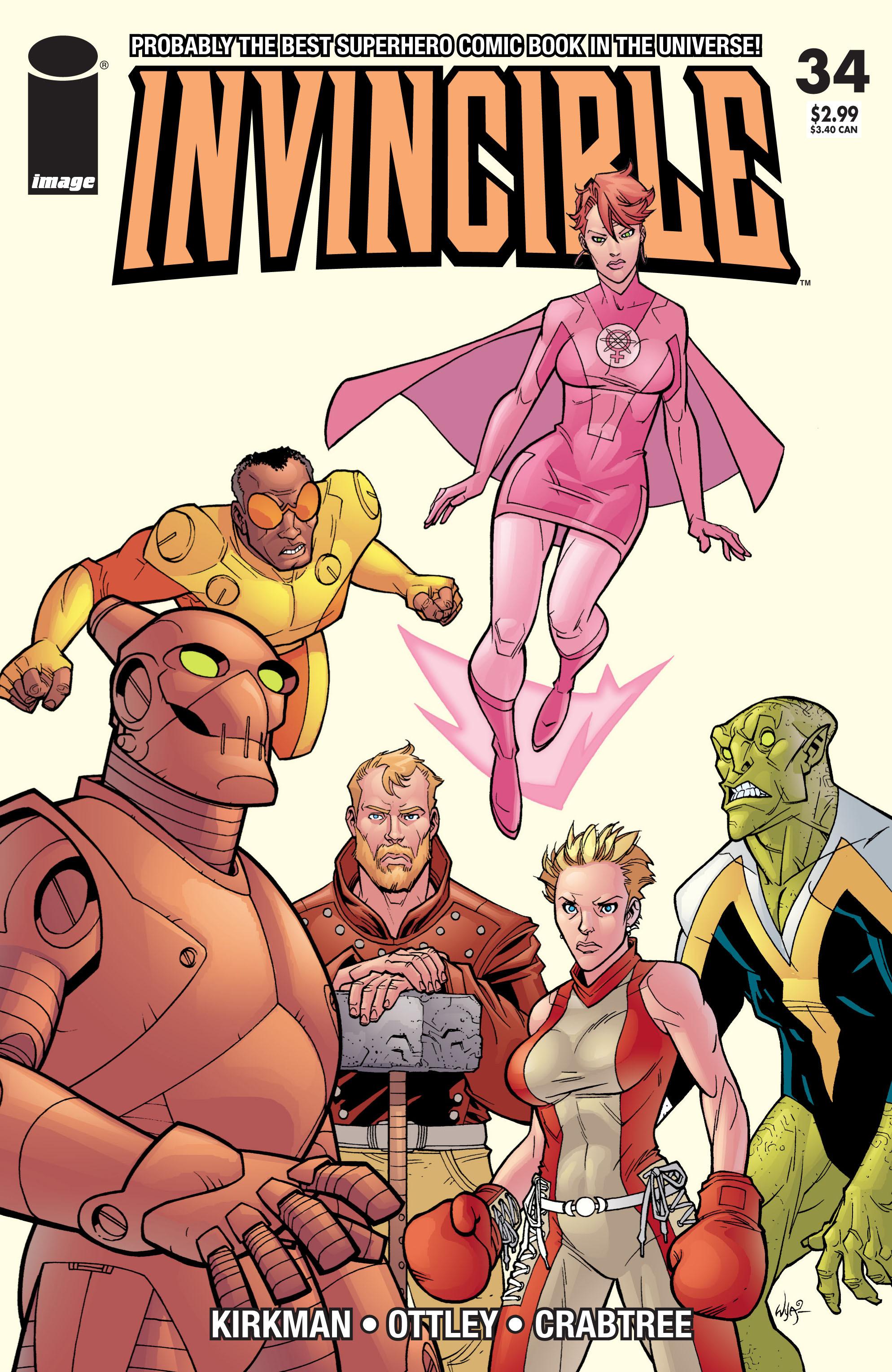 Invincible 34 Page 1
