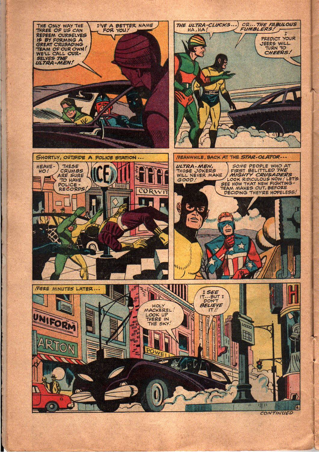 The Mighty Crusaders (1965) Issue #5 #5 - English 7