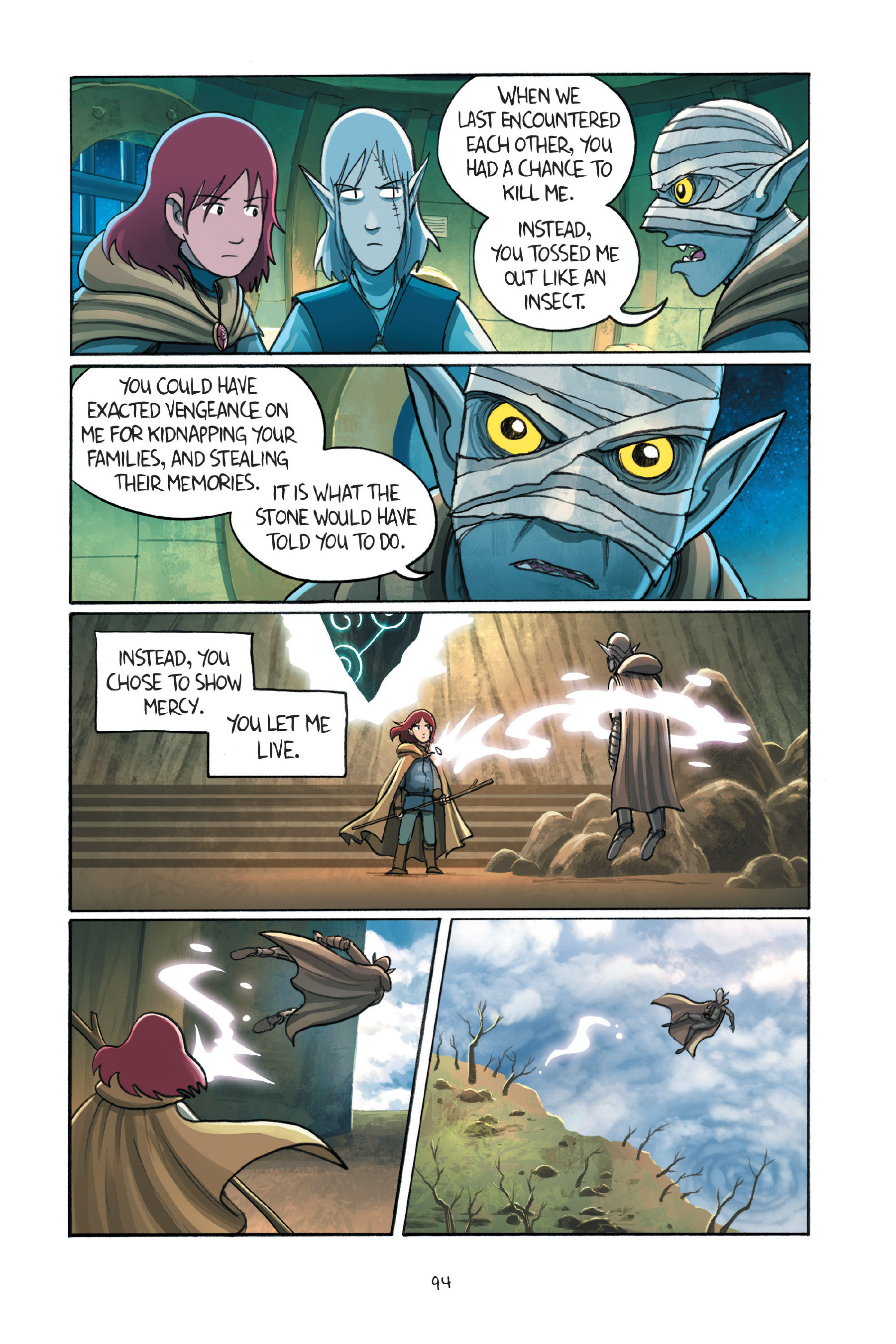 Read online Amulet comic -  Issue #7 - 95