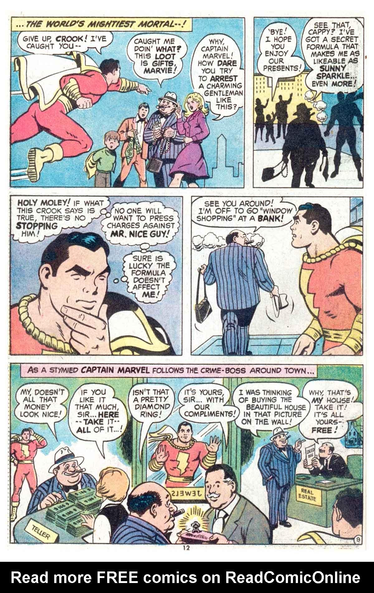 Read online Shazam! (1973) comic -  Issue #13 - 13