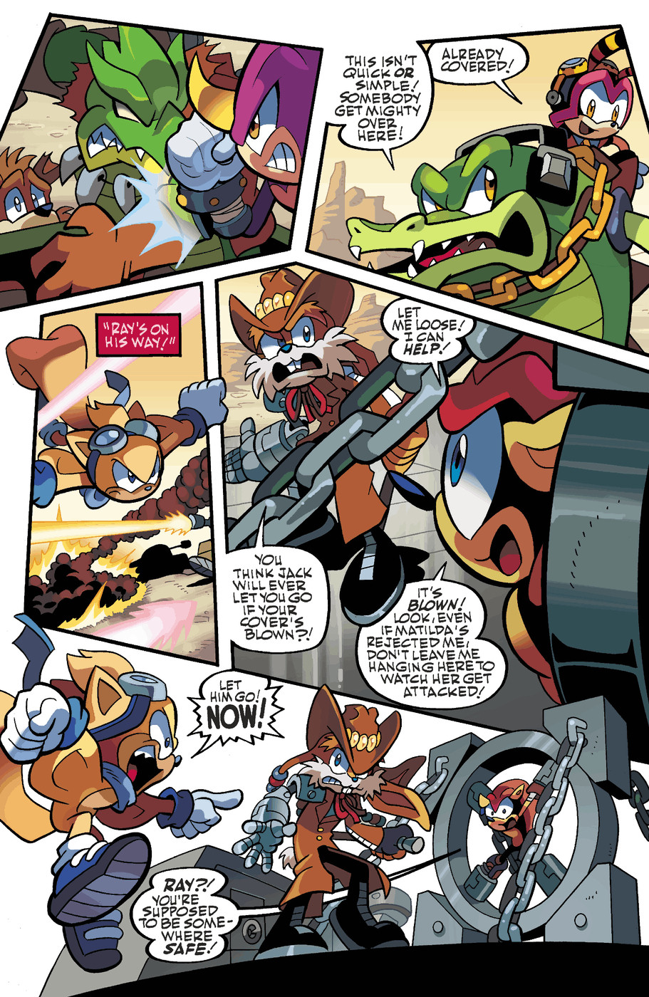 Read online Sonic Universe comic -  Issue #49 - 10