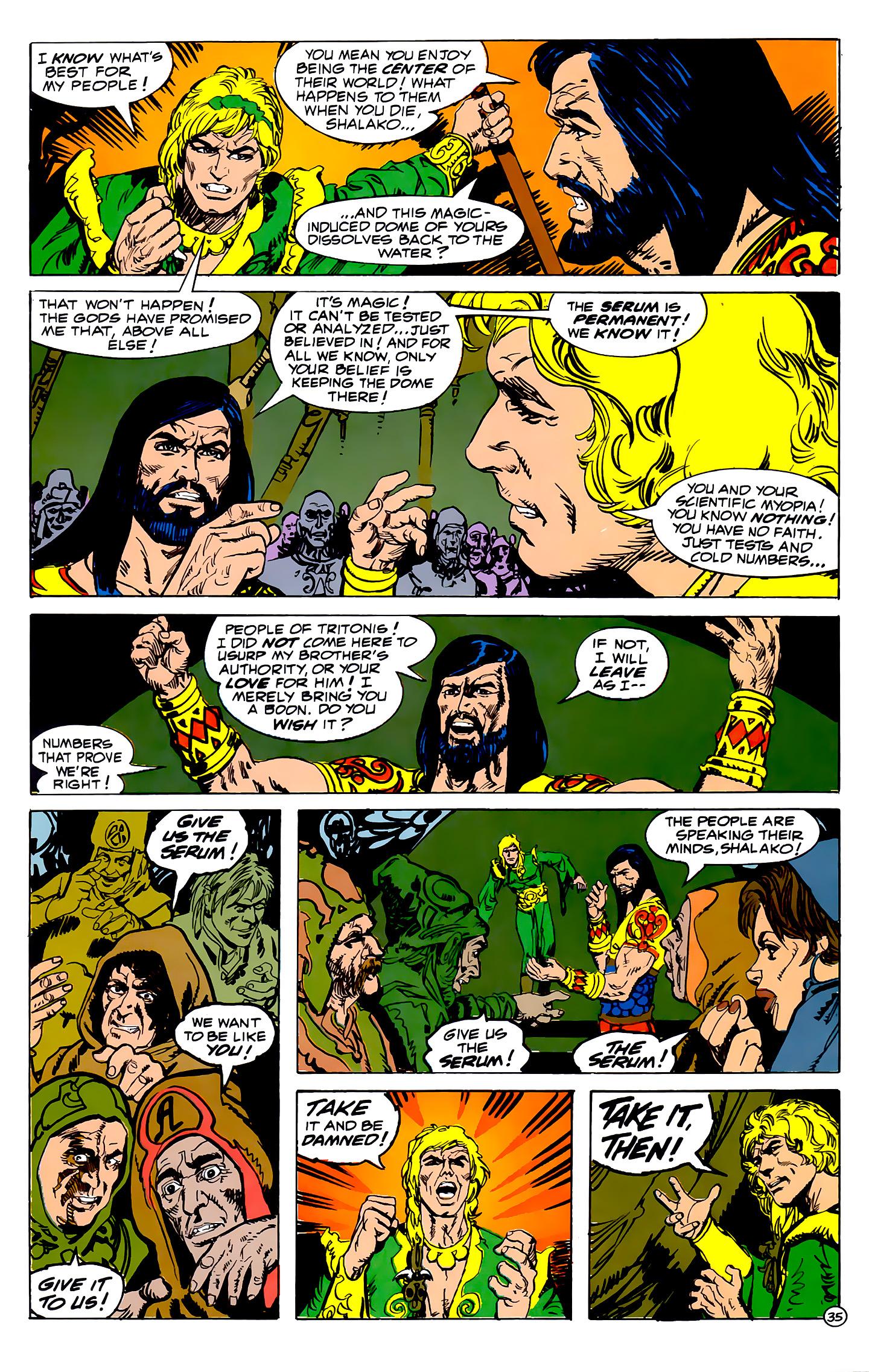 Read online Atlantis Chronicles comic -  Issue #2 - 35