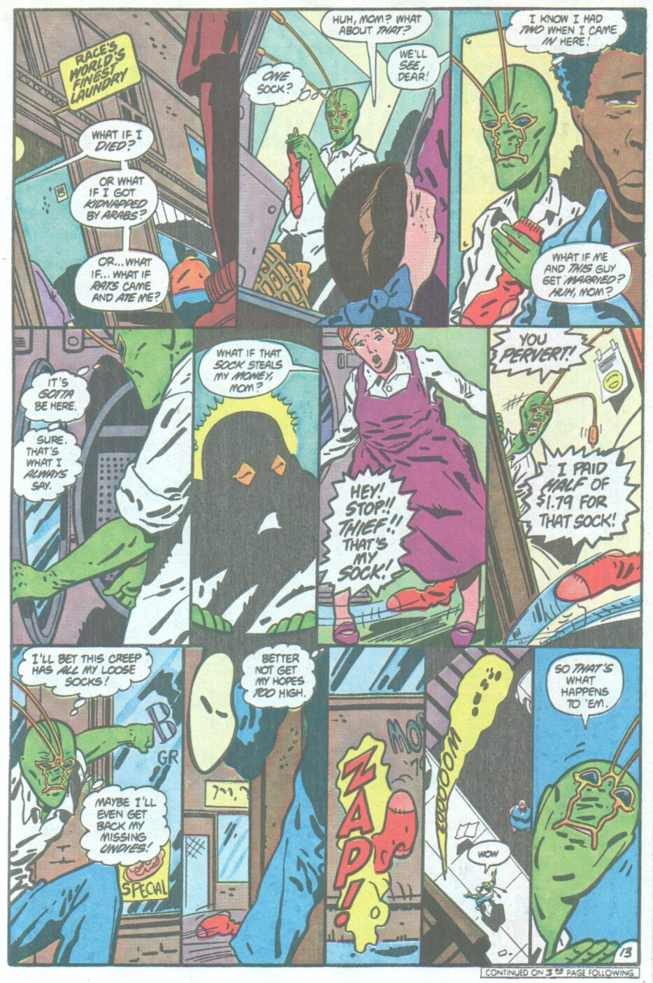 Read online Ambush Bug comic -  Issue #4 - 14