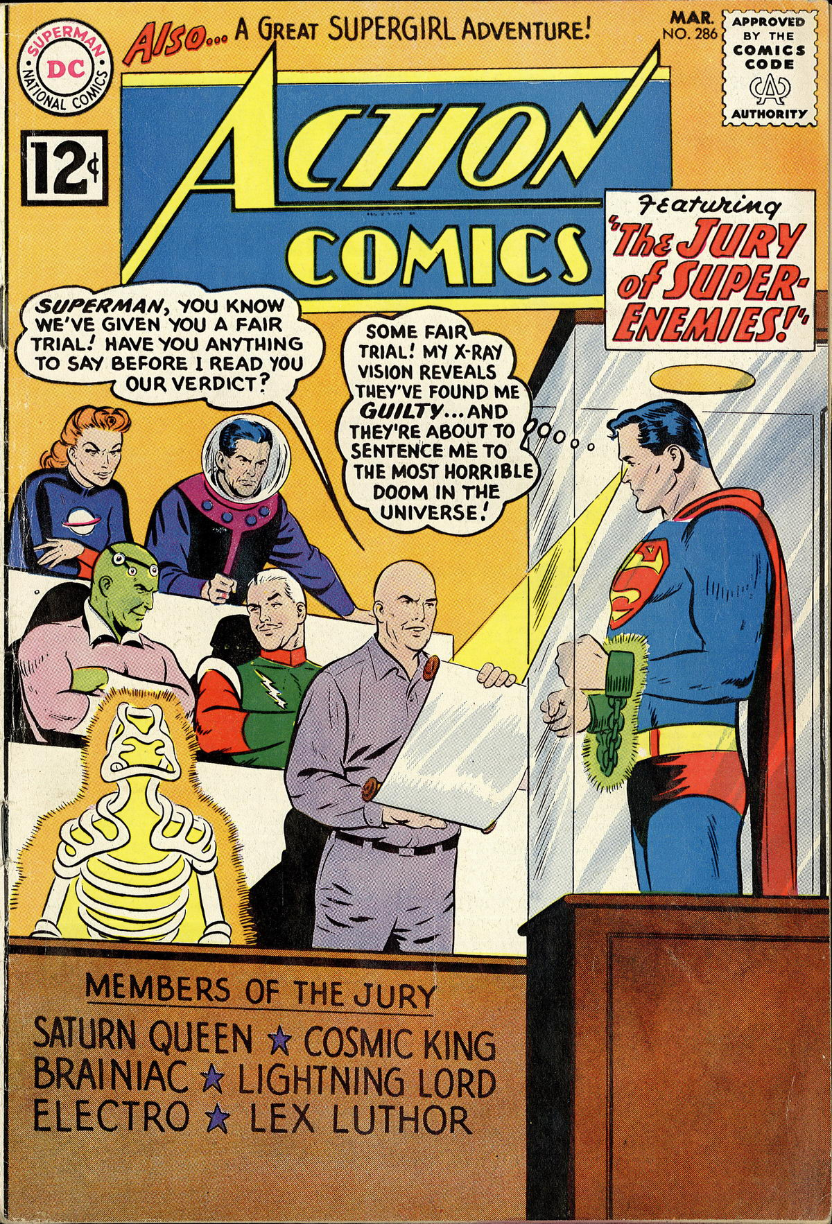 Action Comics (1938) 286 Page 1