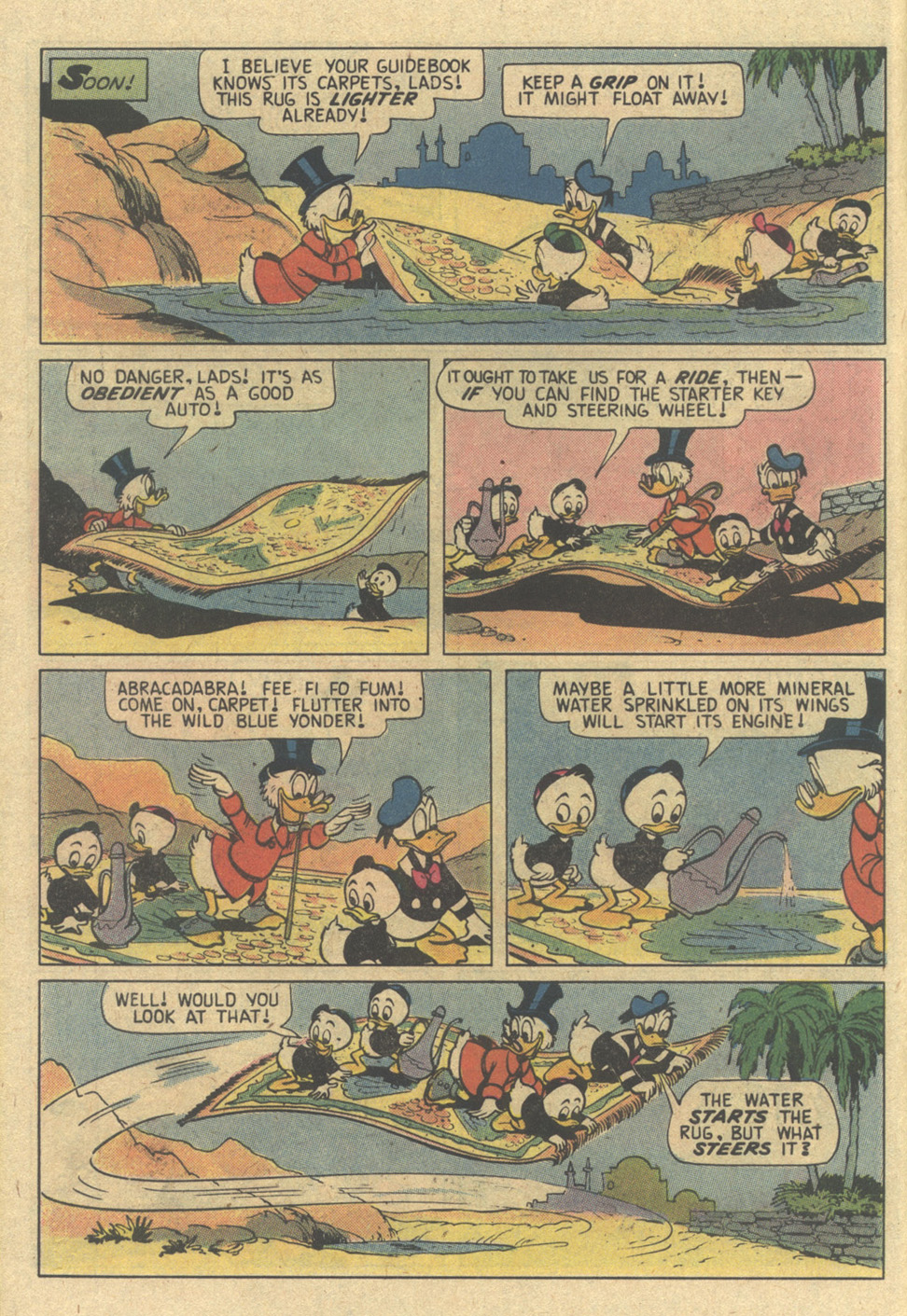 Read online Uncle Scrooge (1953) comic -  Issue #187 - 10