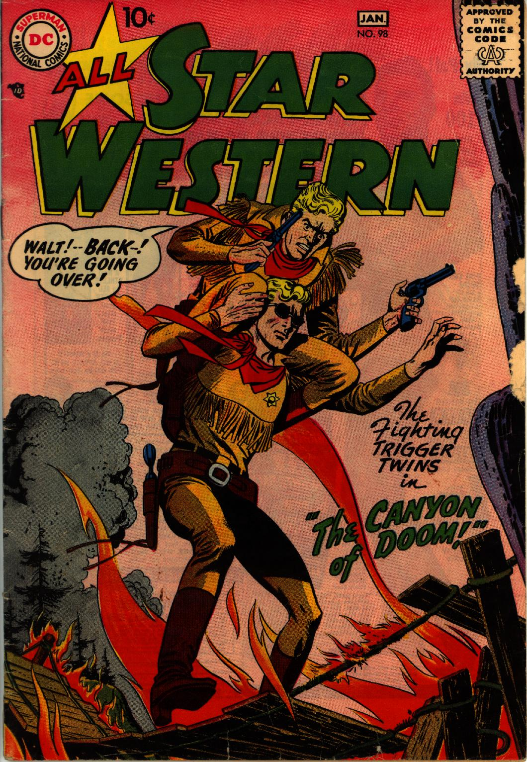 Read online All-Star Western (1951) comic -  Issue #98 - 1