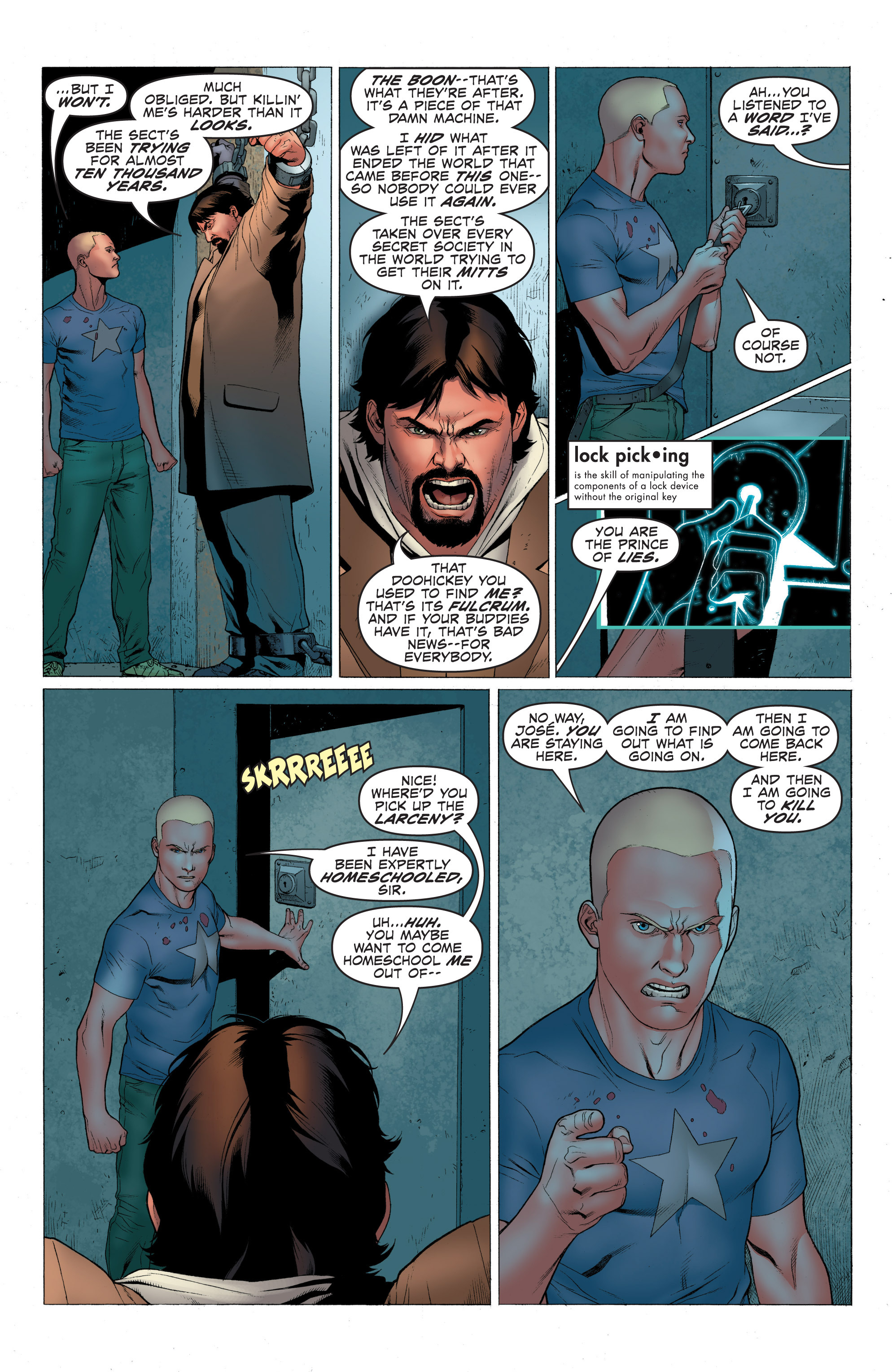 Read online Archer and Armstrong comic -  Issue #1 - 23