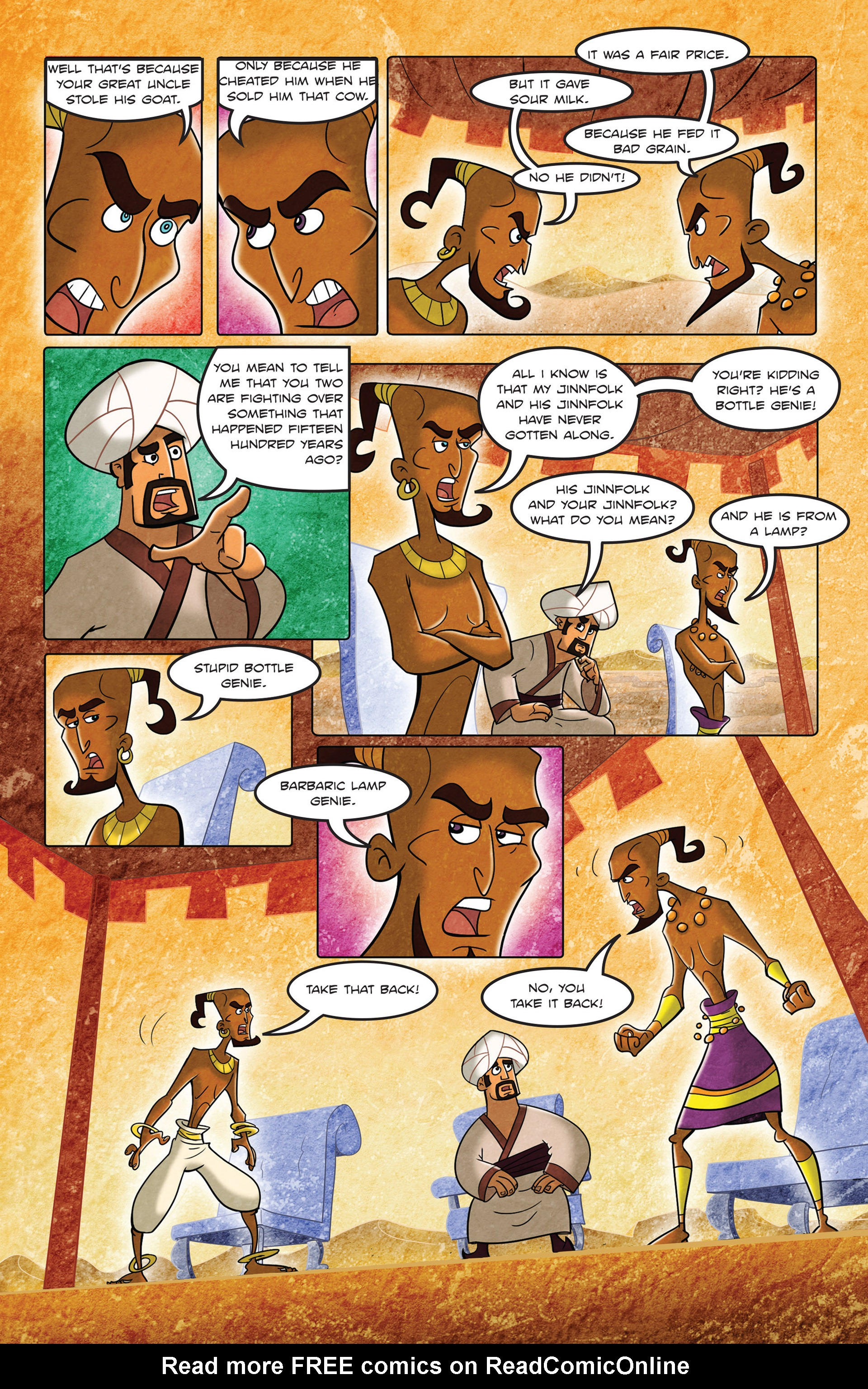 Read online 1001 Nights comic -  Issue #3 - 22