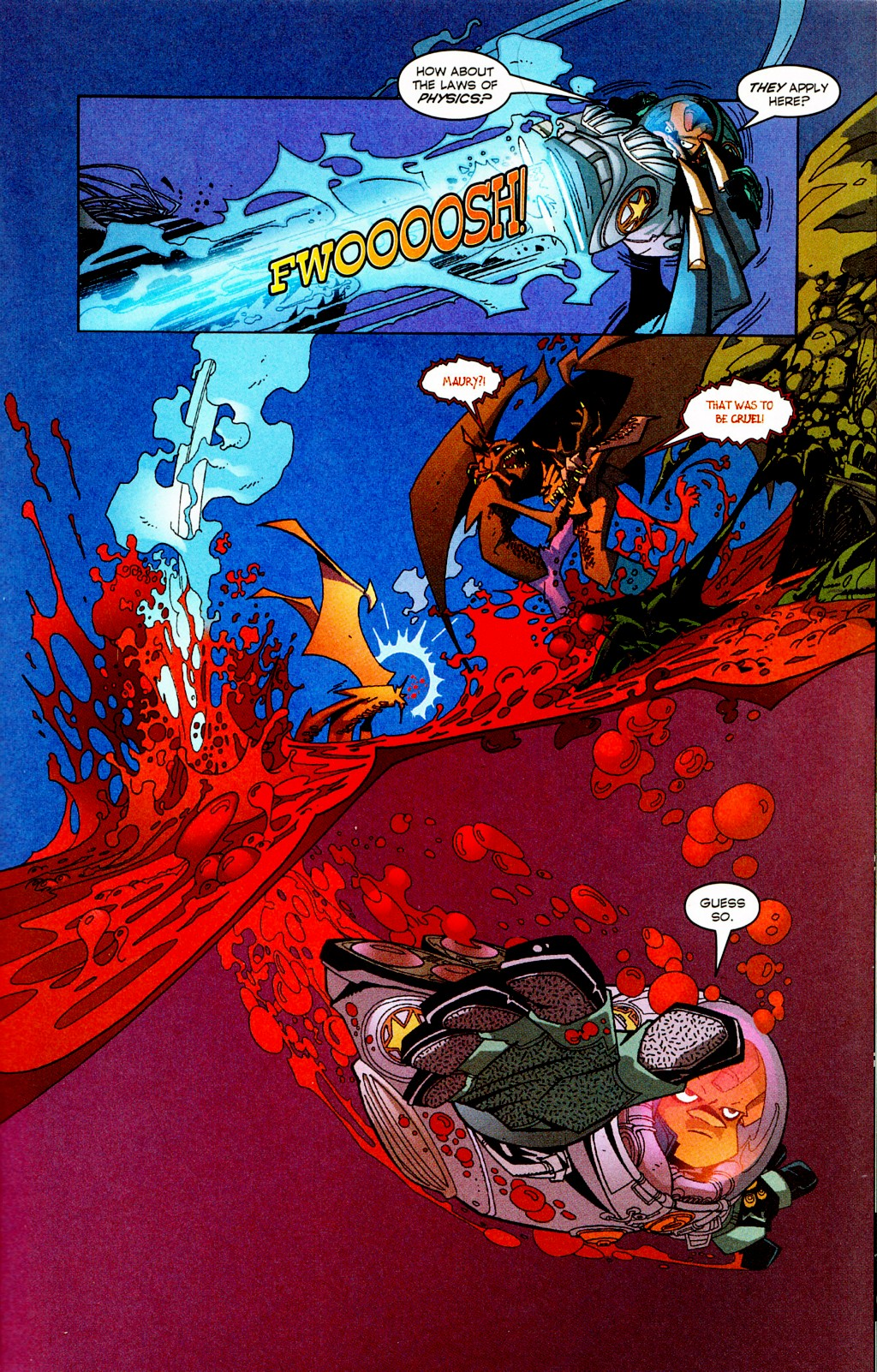 Read online Monster World (Existed) comic -  Issue #2 - 9