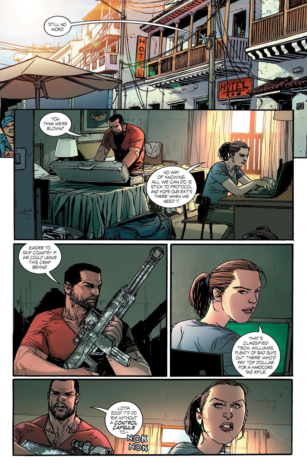 Read online Hardcore comic -  Issue #3 - 5