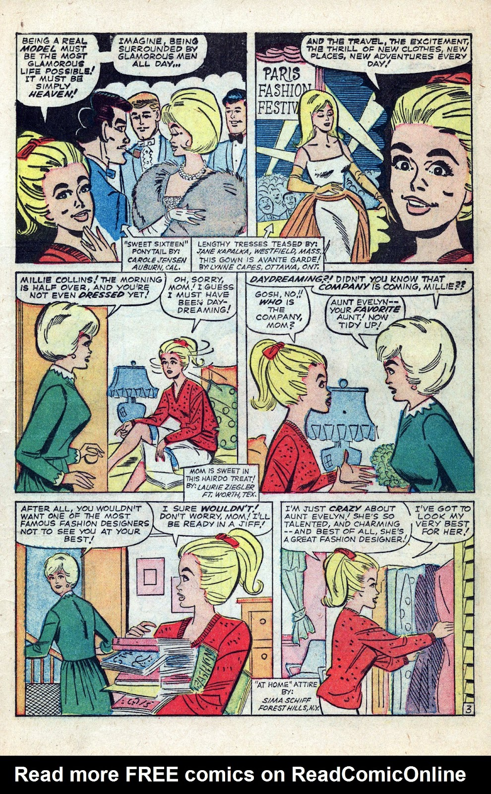 Read online Millie the Model comic -  Issue # Annual 3 - 5