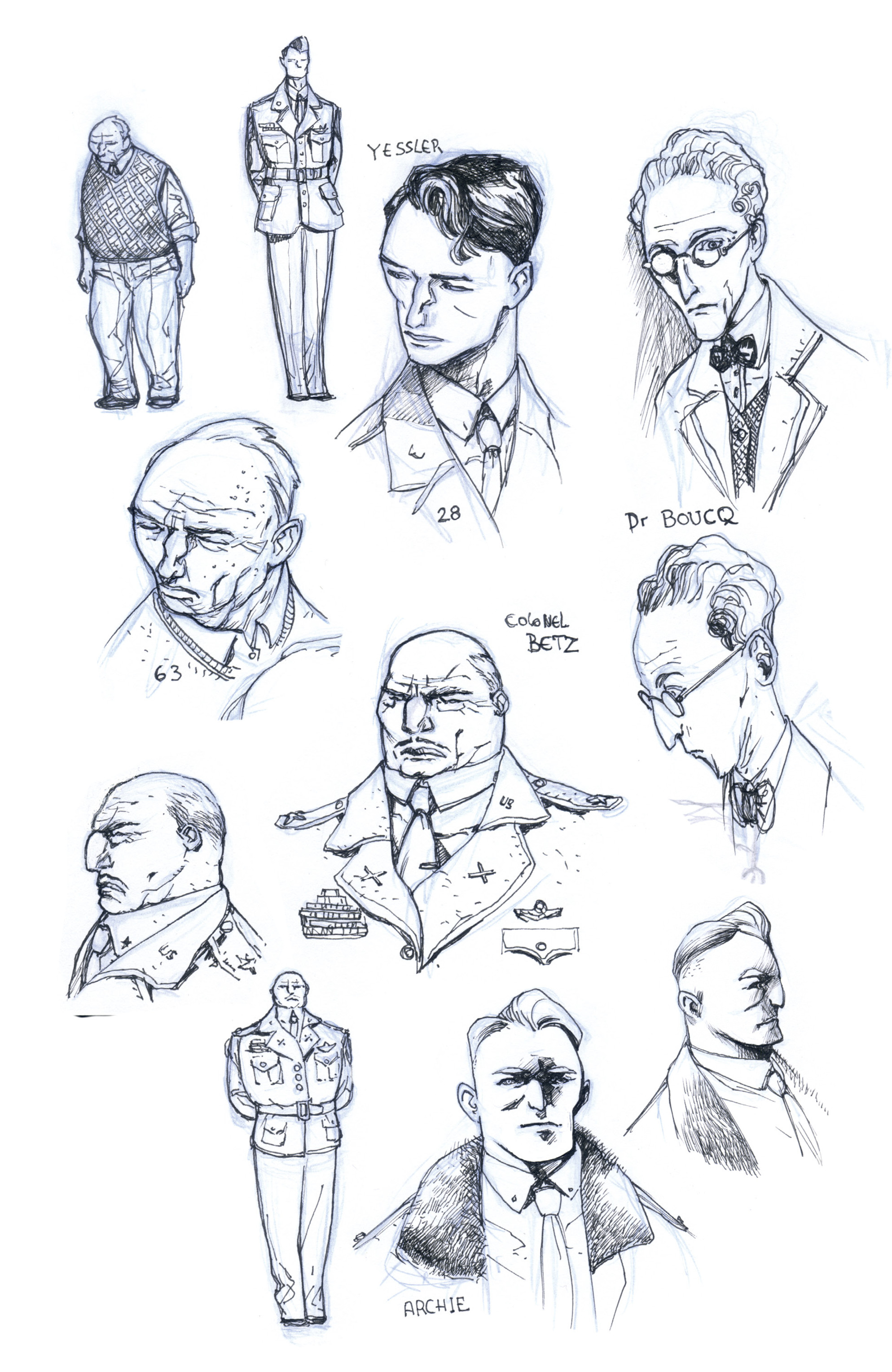 Read online B.P.R.D.: 1948 comic -  Issue # TPB - 129