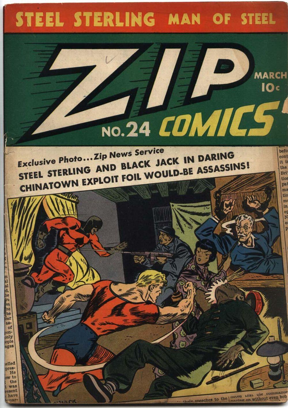 Zip Comics 24 Page 1