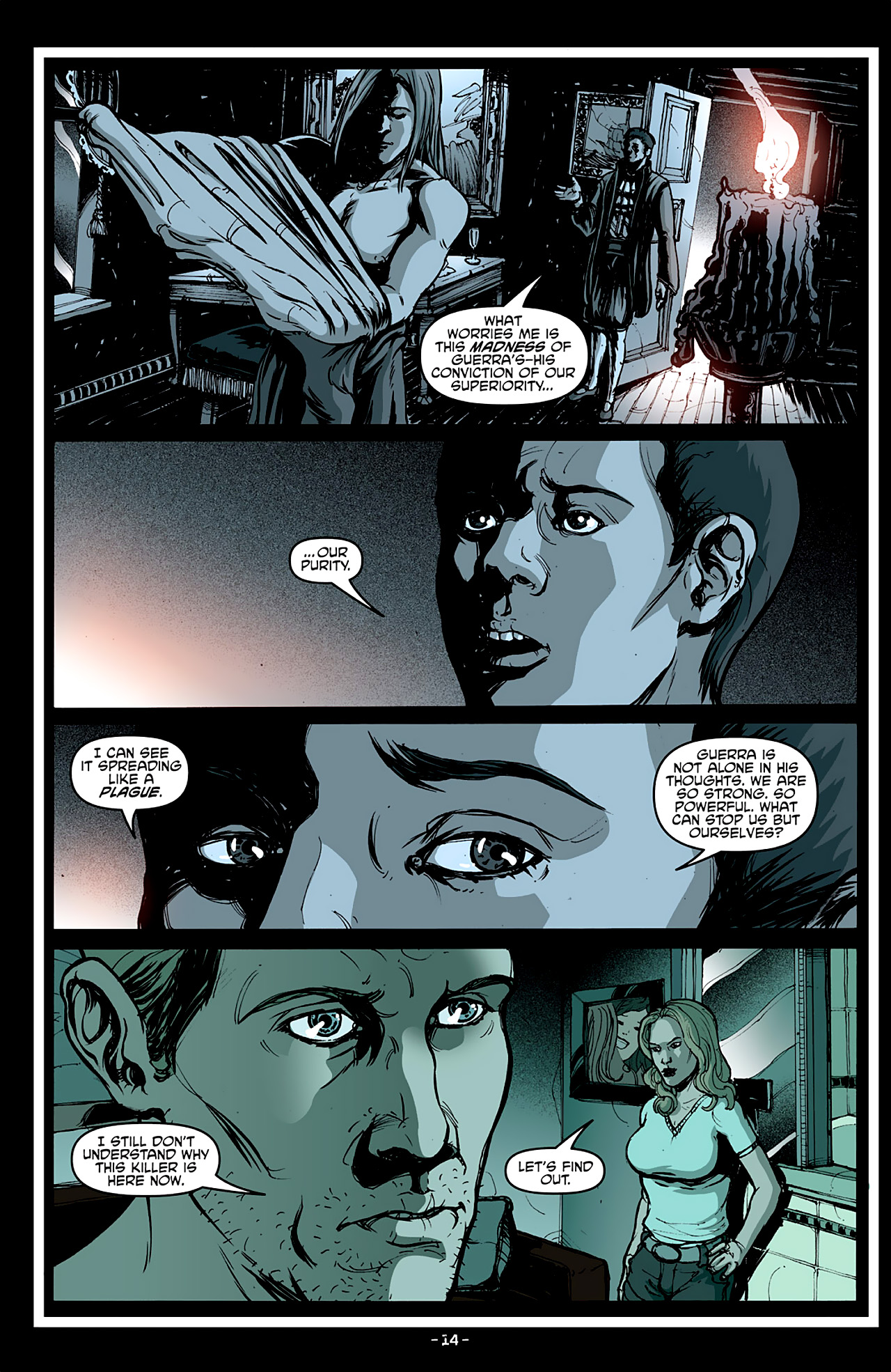 Read online True Blood: French Quarter comic -  Issue #4 - 19