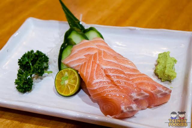 sake salmon sashimi