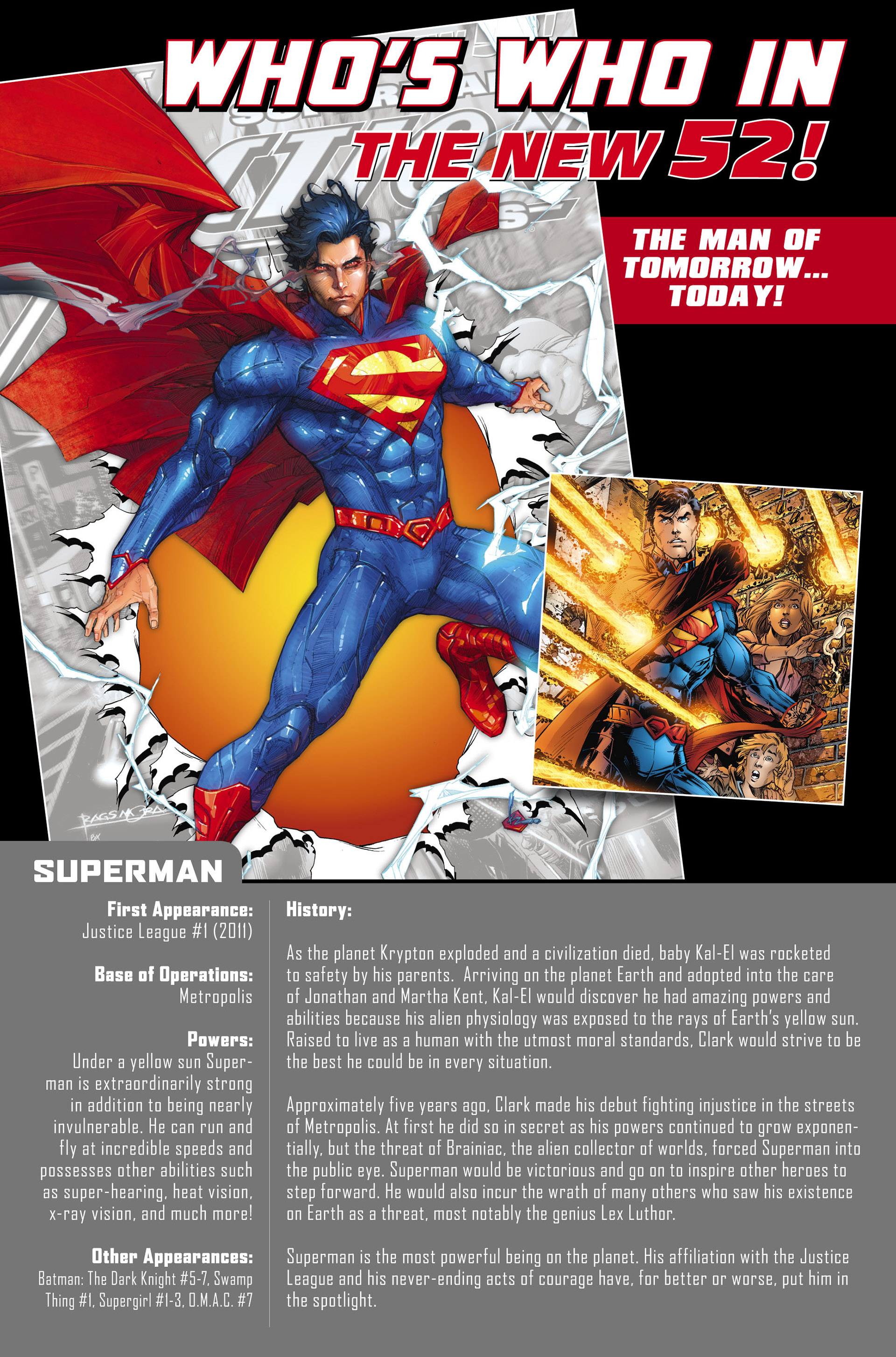 Read online Action Comics (2011) comic -  Issue #0 - 33