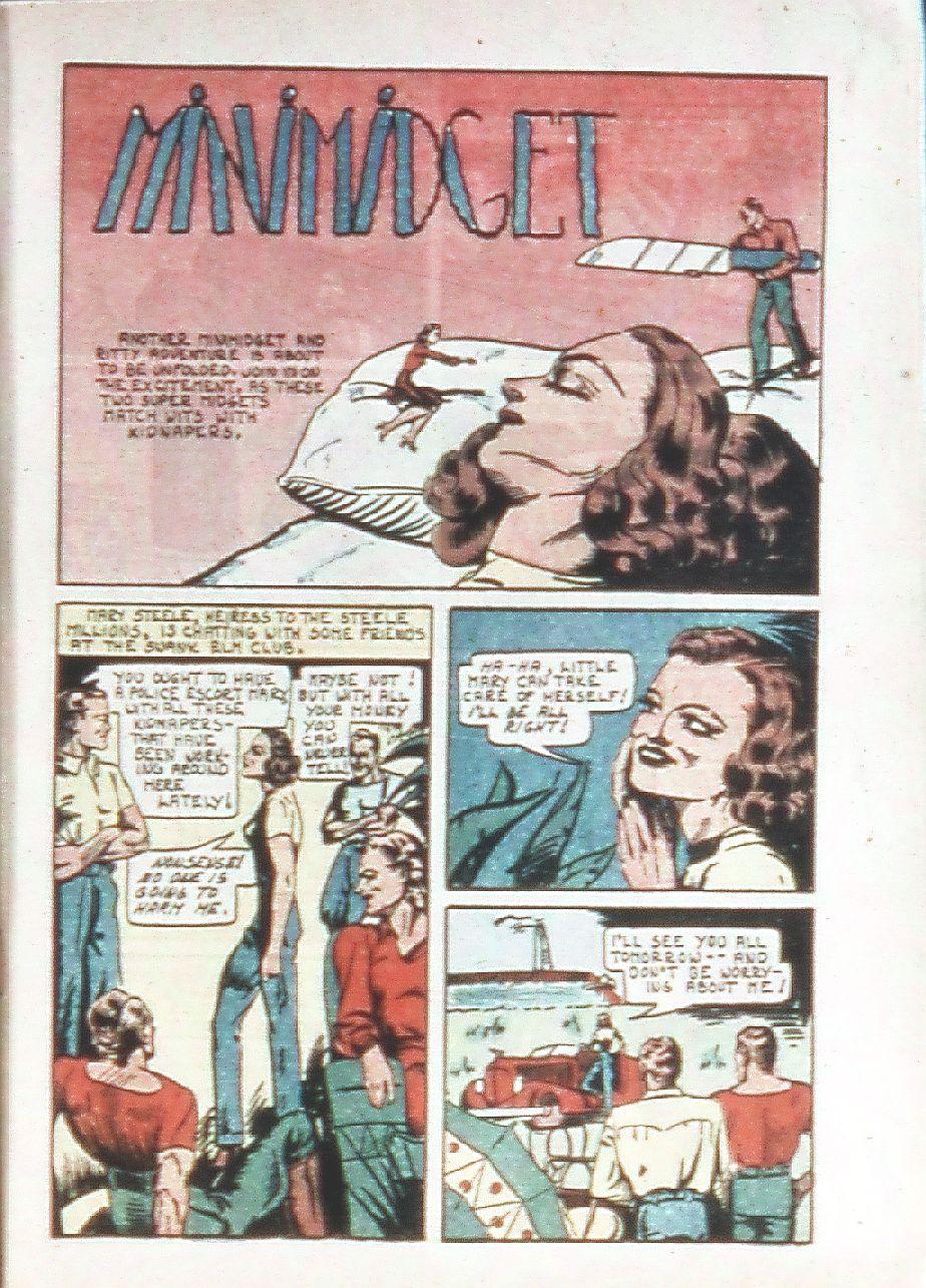 Read online Amazing Man Comics comic -  Issue #18 - 15