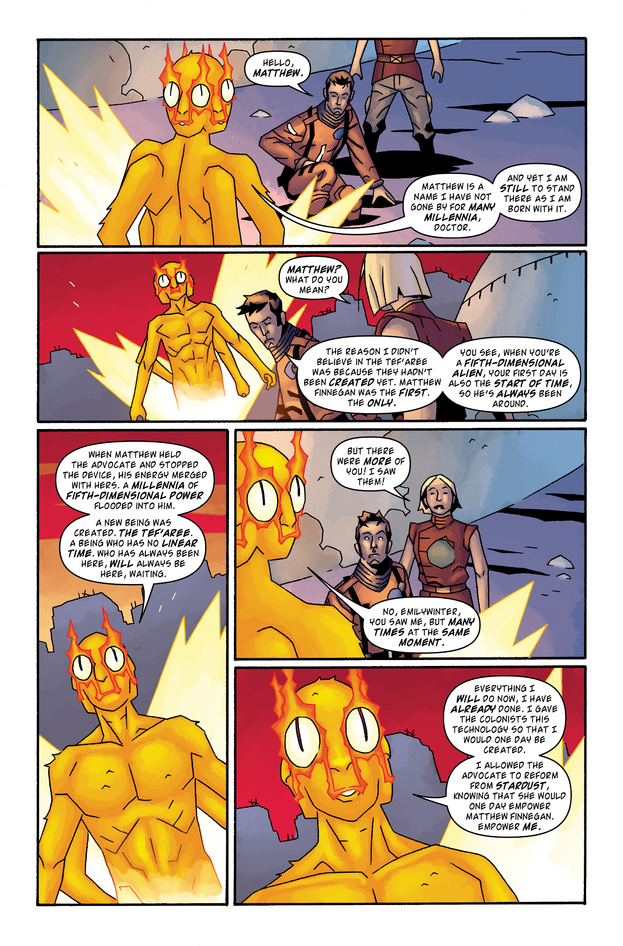 Read online Doctor Who: The Tenth Doctor Archives comic -  Issue #34 - 15